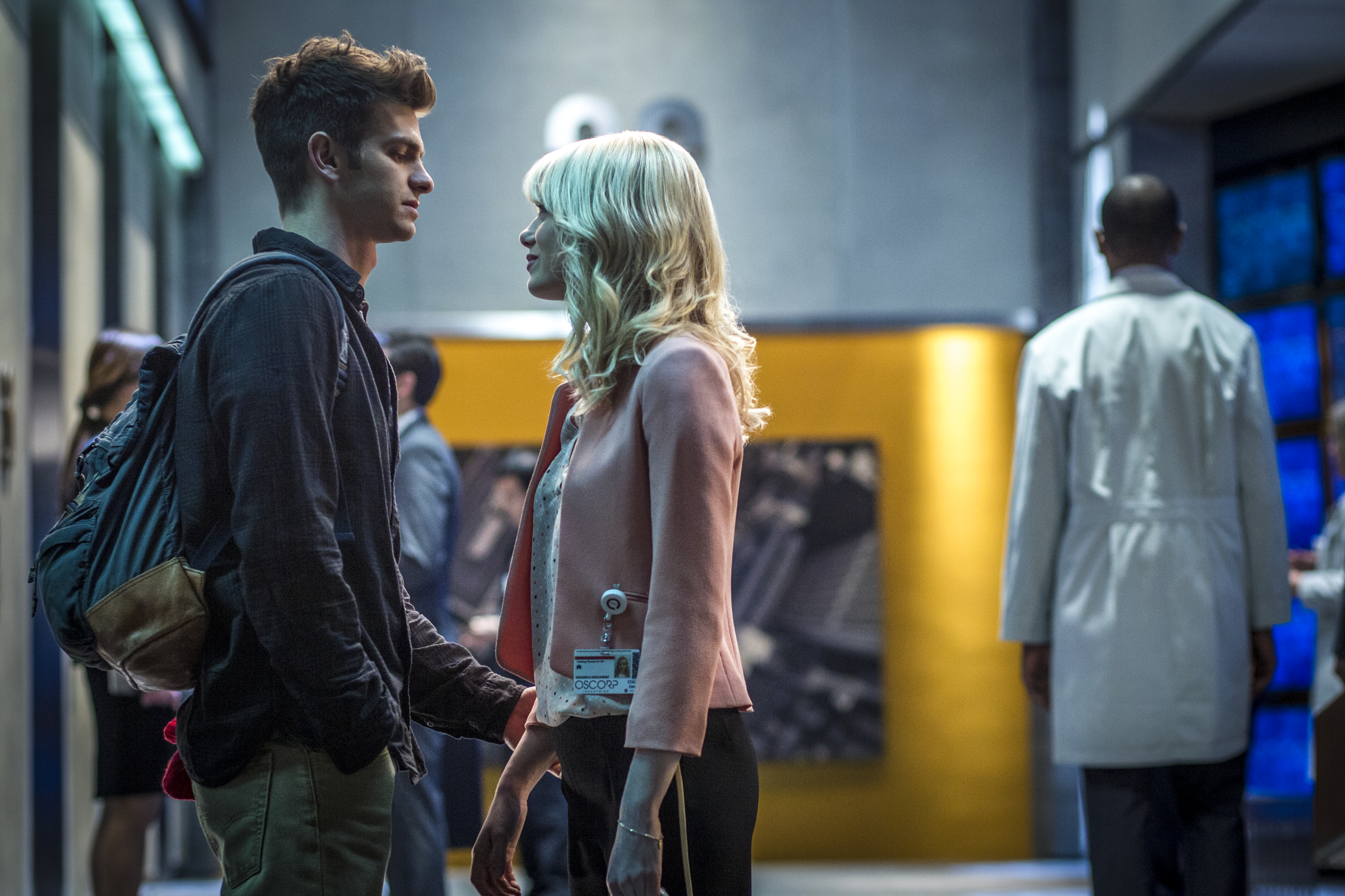 Andrew Garfield and Emma Stone star in Columbia Pictures' The Amazing Spider-Man 2.