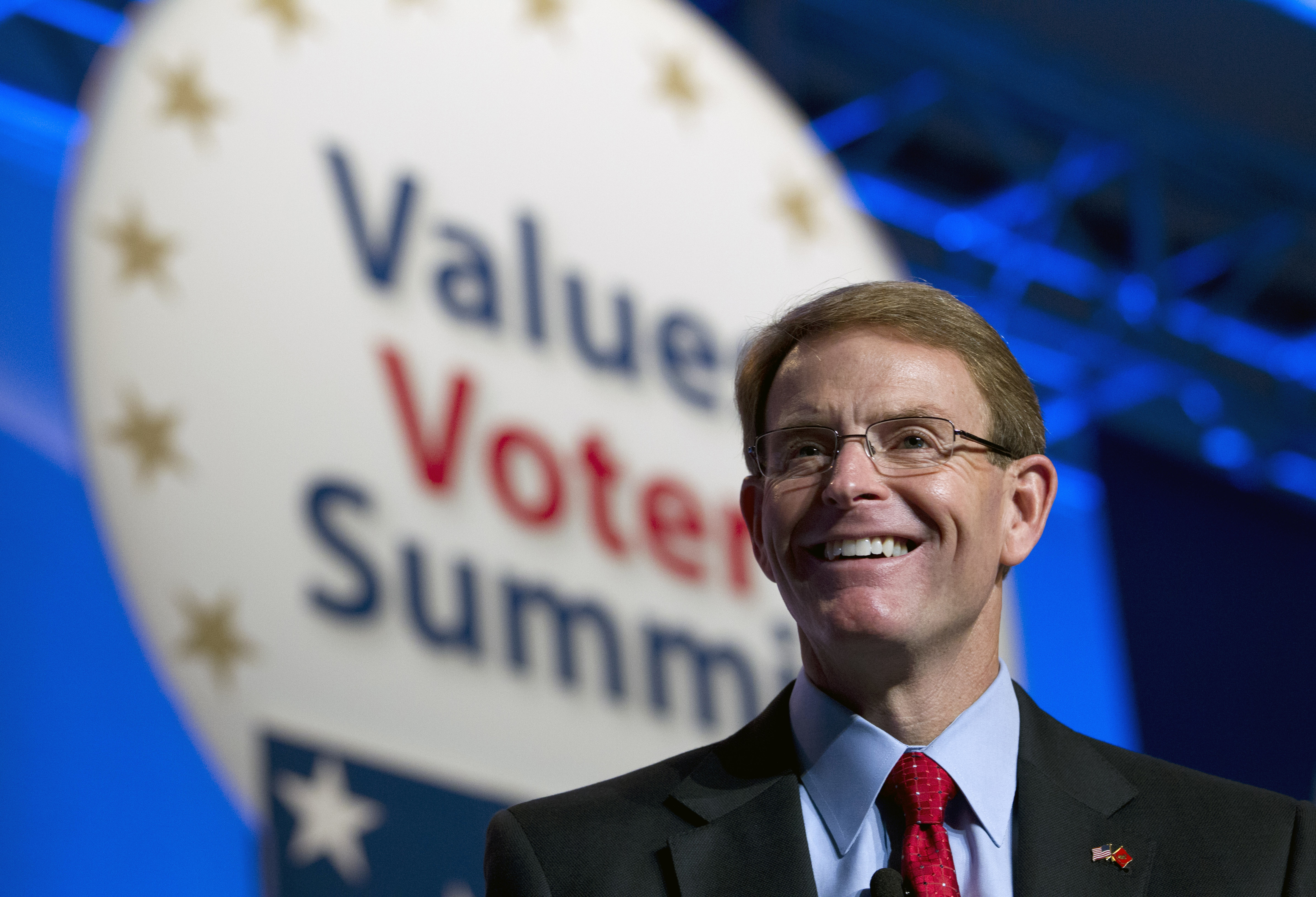 FRCAction and Family Research Council President Tony Perkins, speaks during the Values Voter Summit, held by the Family Research Council Action, on Oct. 11, 2013, in Washington, D.C.