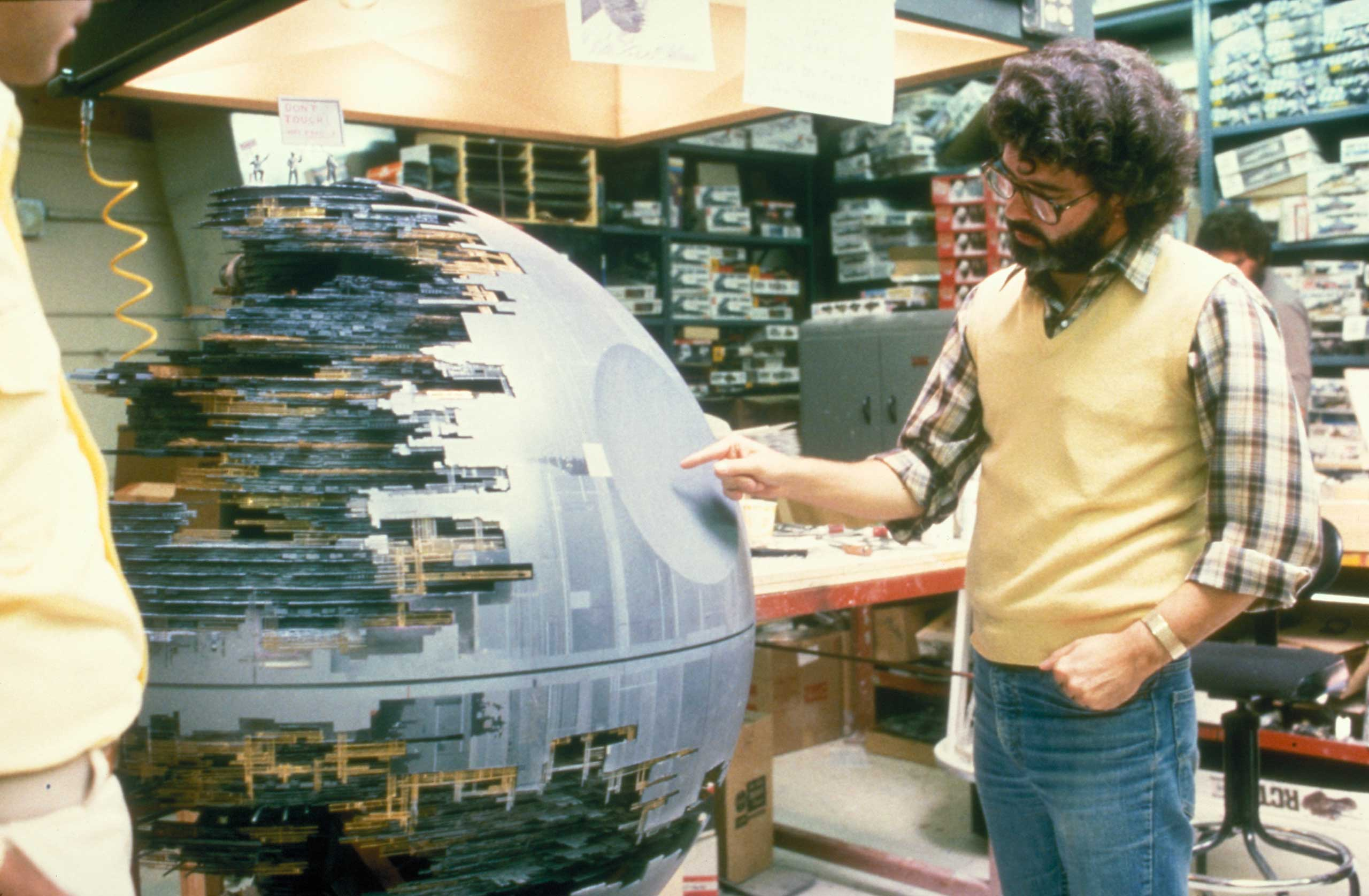 Lucas makes sure that the Death Star is fully armed and operational for <i>Return of the Jedi</i>.