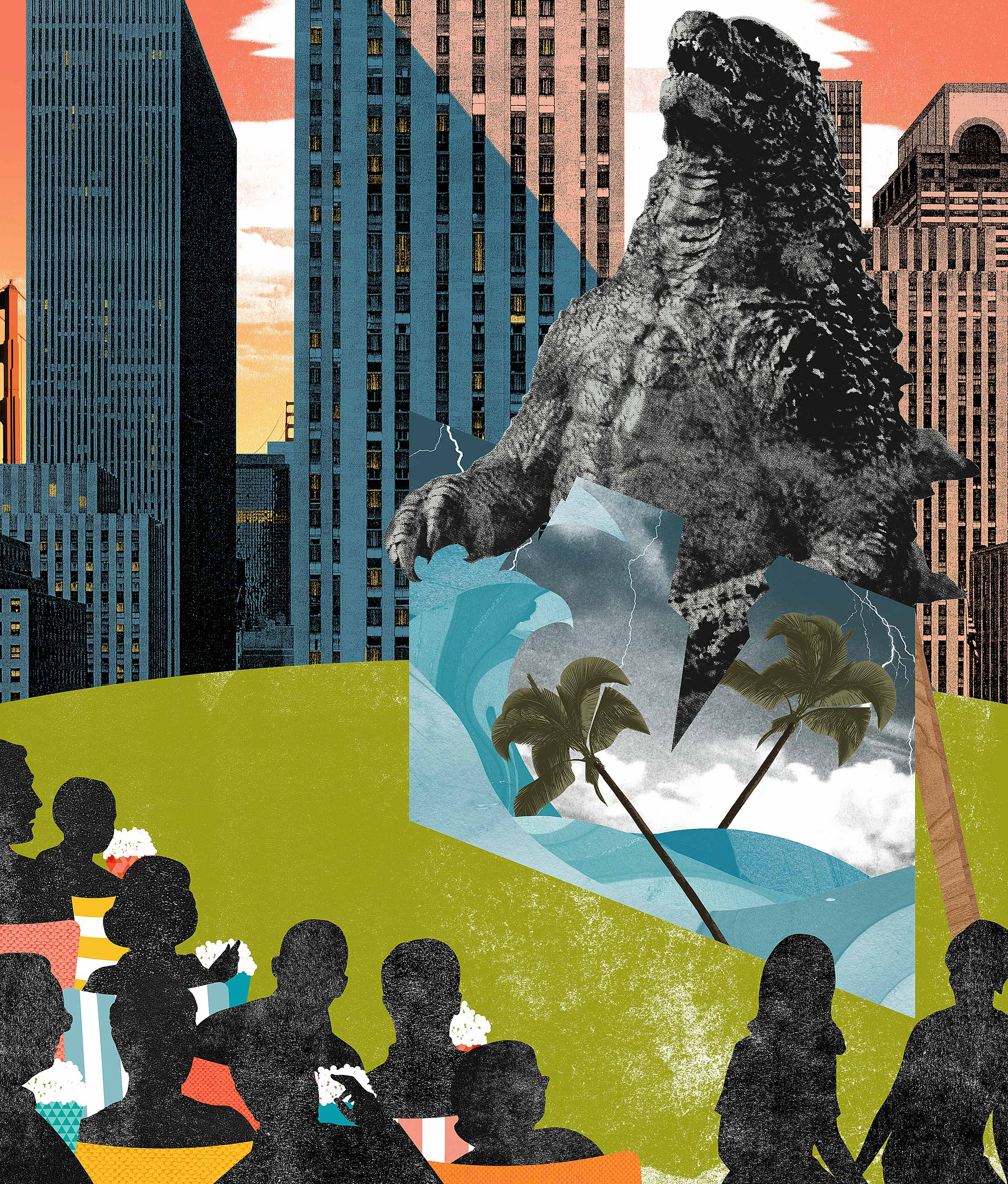Godzilla leads a surge of summer movies that reflect our environmental anxieties