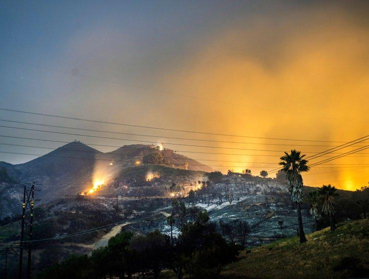 California wild fires