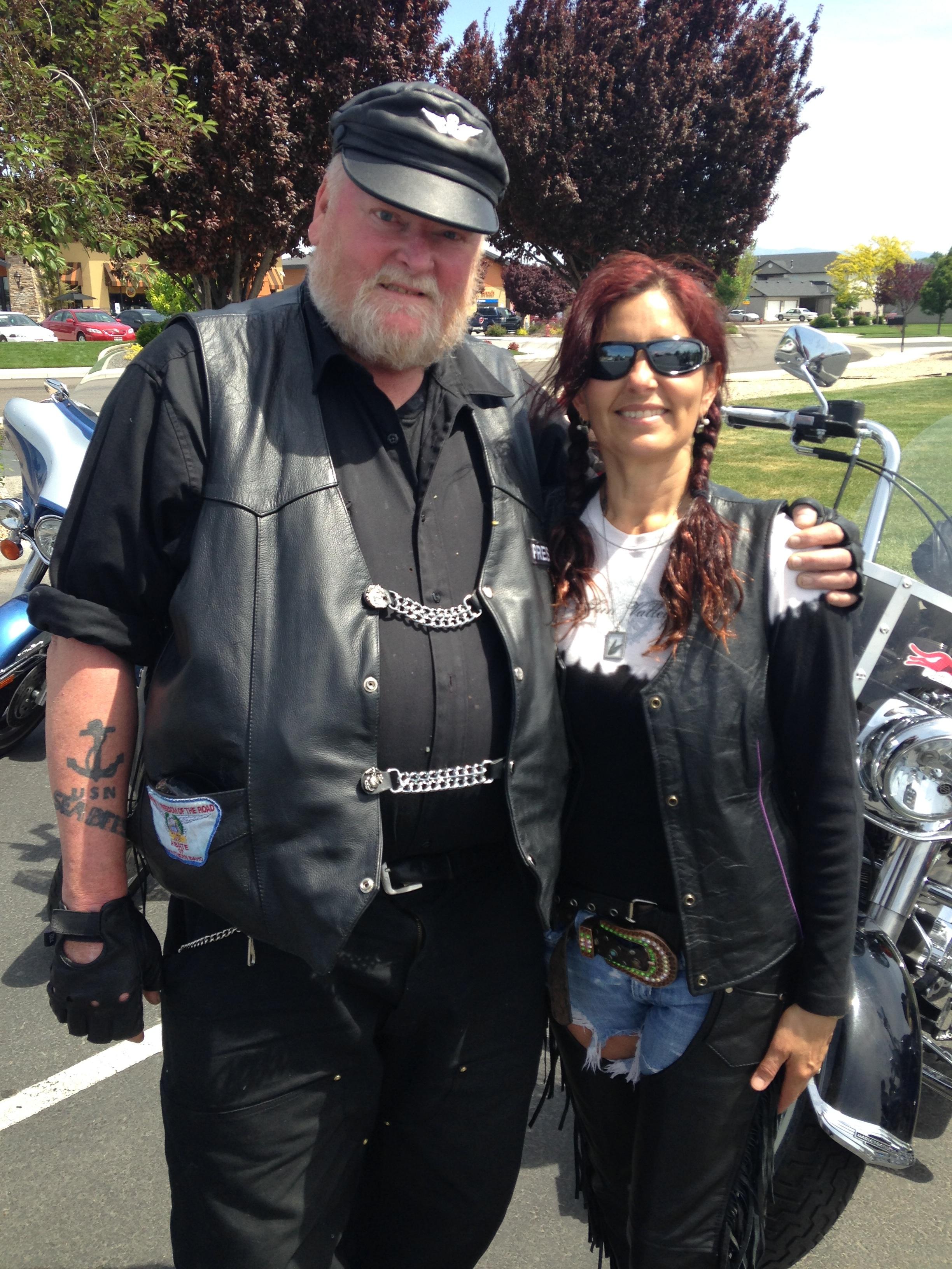 Harley Brown and Lisa Marie