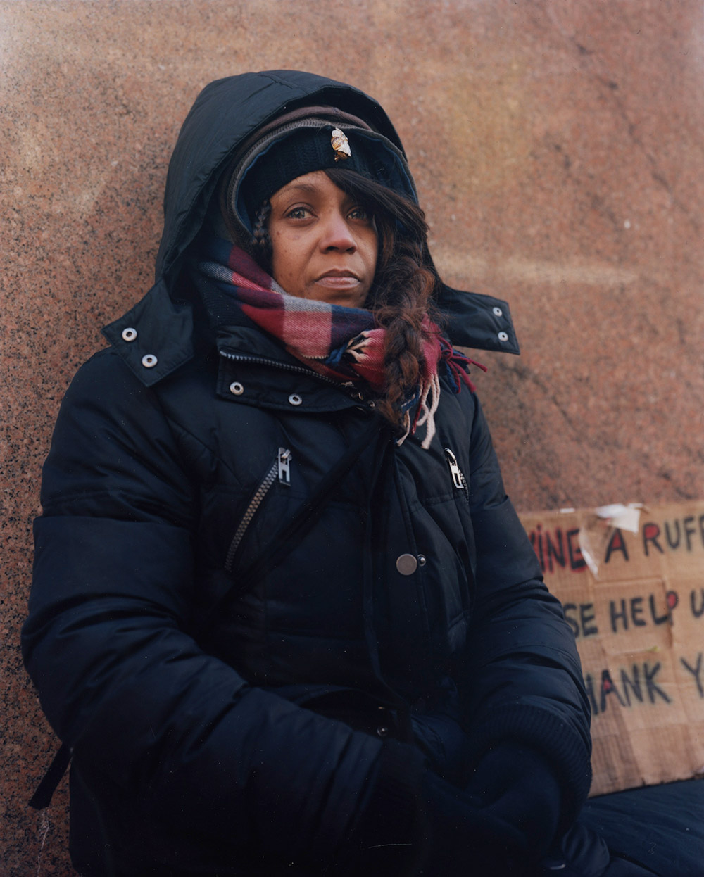 Charise M. Paschall, from Andres Serrano's Residents of New York project