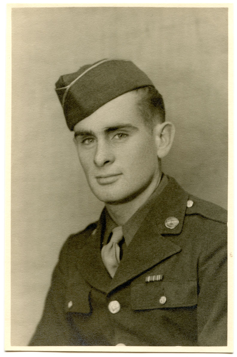 Huston Riley, circa 1944.