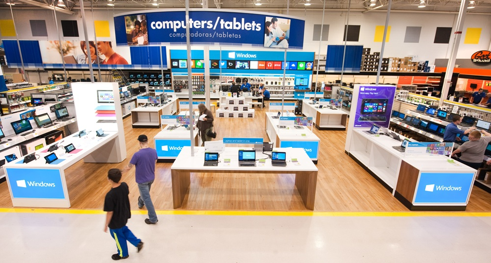 The Windows Store at Best Buy