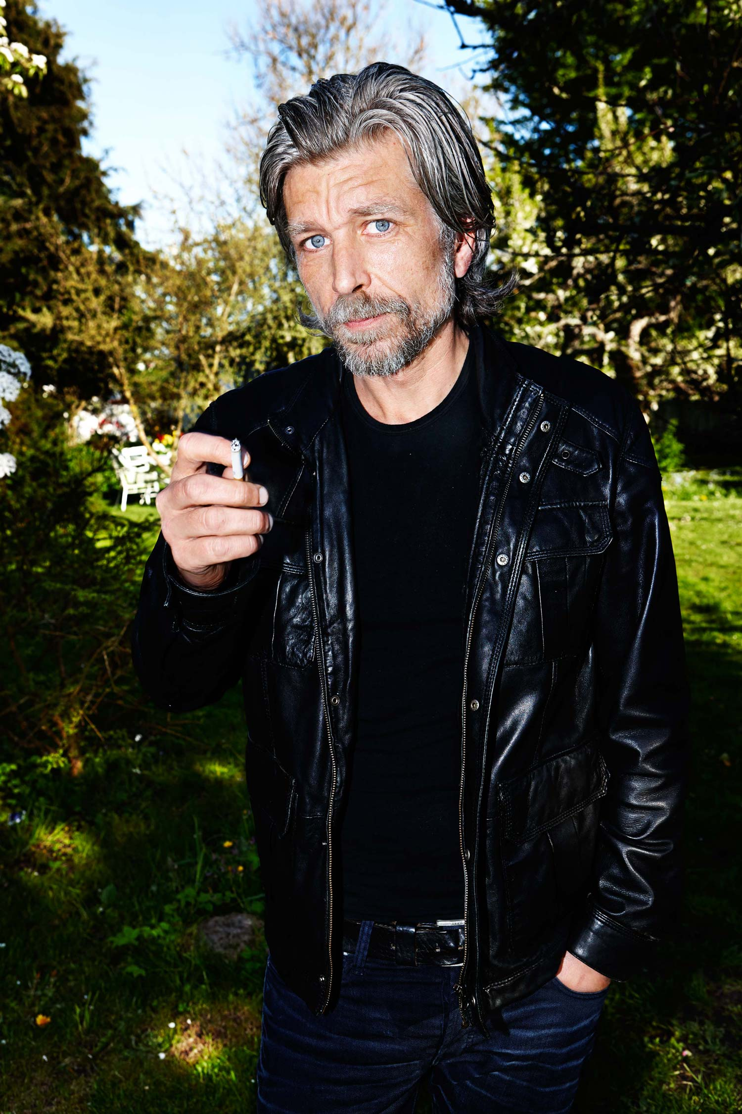 Knausgaard at his home in Sweden. The third volume of his epic novel My Struggle (Archipelago; 432pages) will be published in the U.S. on May27
