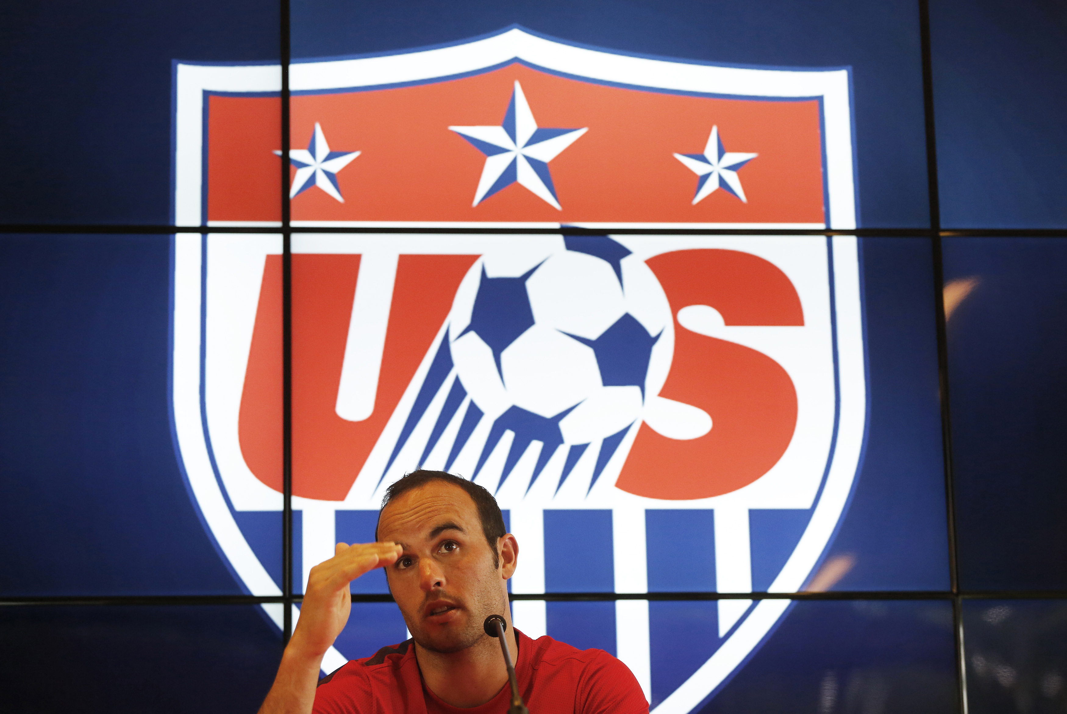 U.S. national soccer team player Landon Donovan, one of the anchors of the national soccer team for the last decade, was cut Thursday by coach Jurgen Klinsmann, who reduced his 30-man squad to the mandatory 23.
