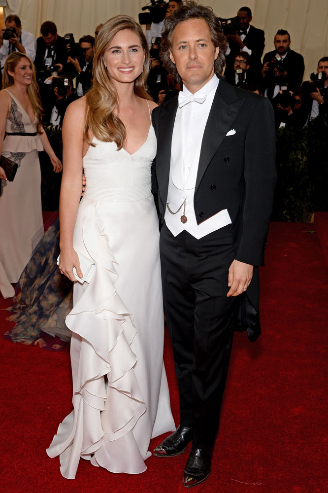 From left: Lauren Bush and David Lauren attend the  Charles James: Beyond Fashion  Costume Institute Gala at the Metropolitan Museum of Art on May 5, 2014 in New York City.