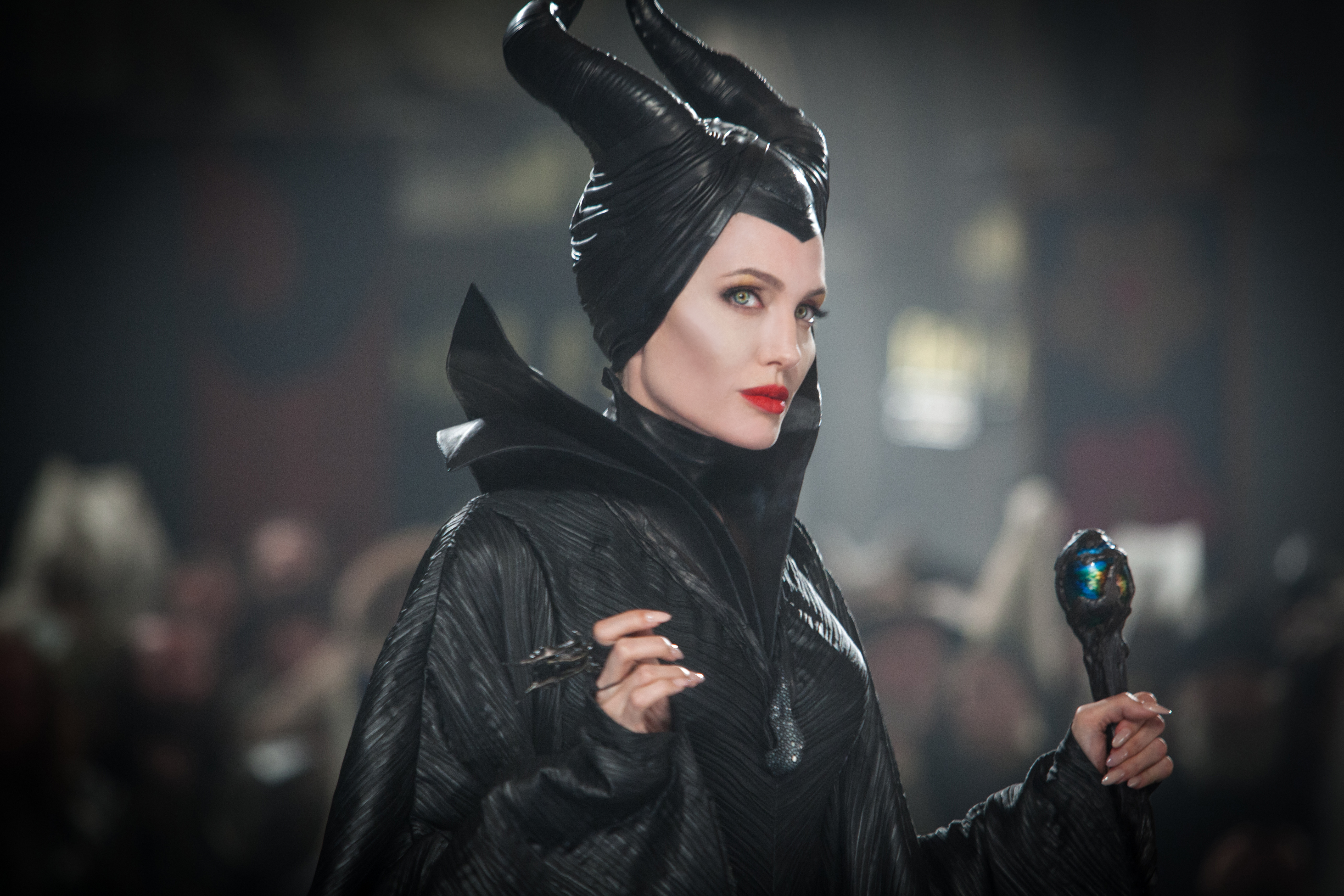 Angelina Jolie in a scene from Maleficent