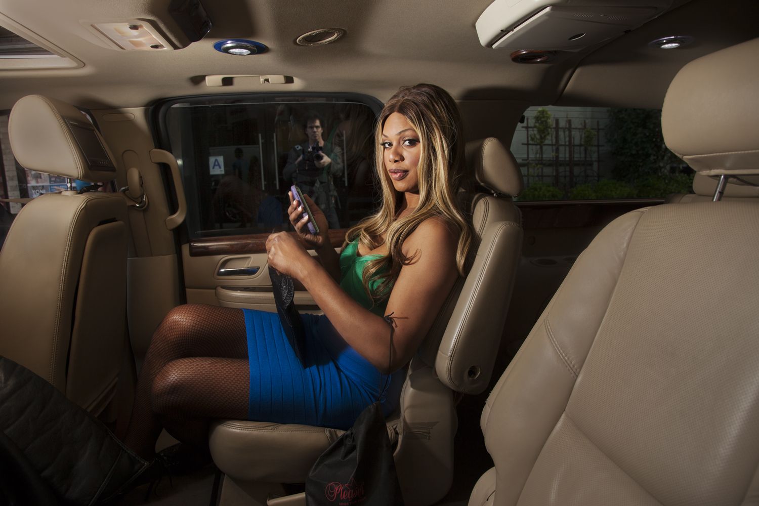 <strong>Laverne Cox</strong> Laverne Cox poses for a portrait while on her way to an event in New York City.