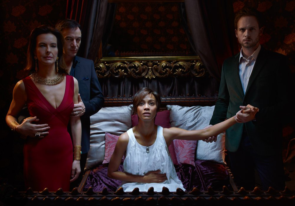 Rosemary's Baby stars Carole Bouquet, Jason Isaacs, Zoe Saldana and Patrick J. Adams