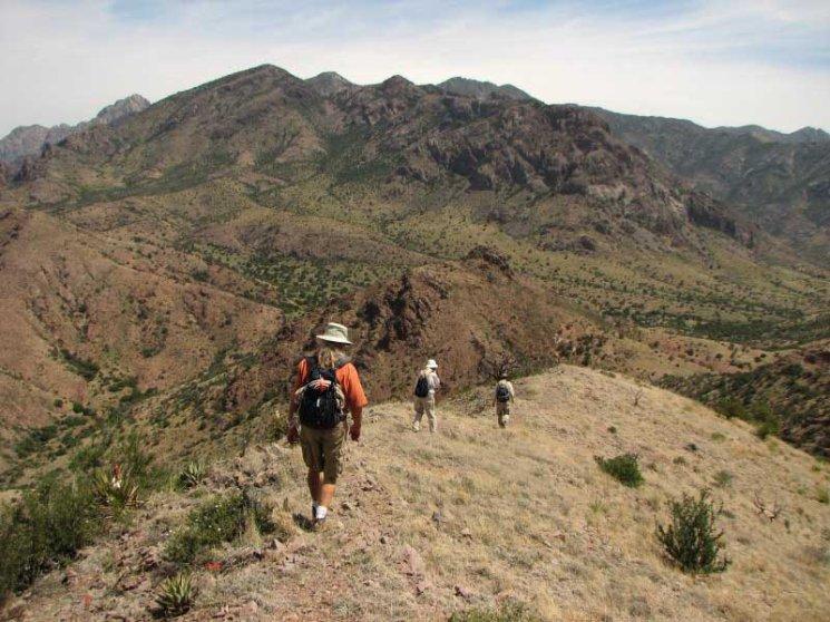 The Organ Mountain Desert Peaks National Monument, near Las Cruces, N.M.