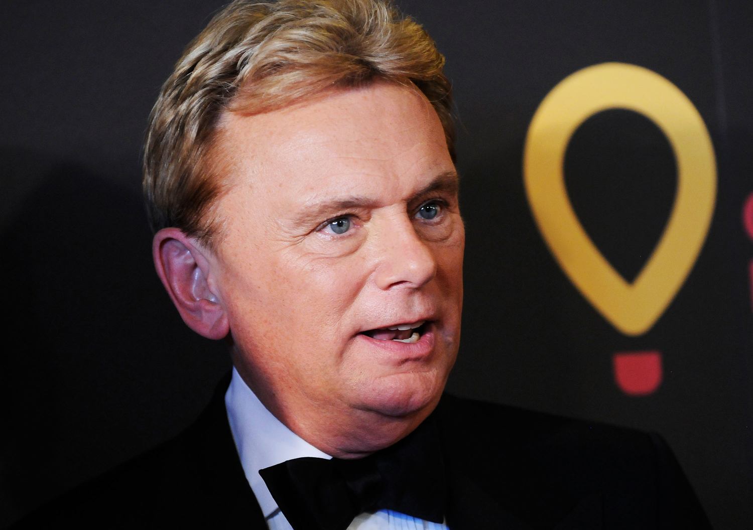 Game-show host Pat Sajak arrives at the 38th Annual Daytime Entertainment Emmy Awards held at the Las Vegas Hilton on June 19, 2011