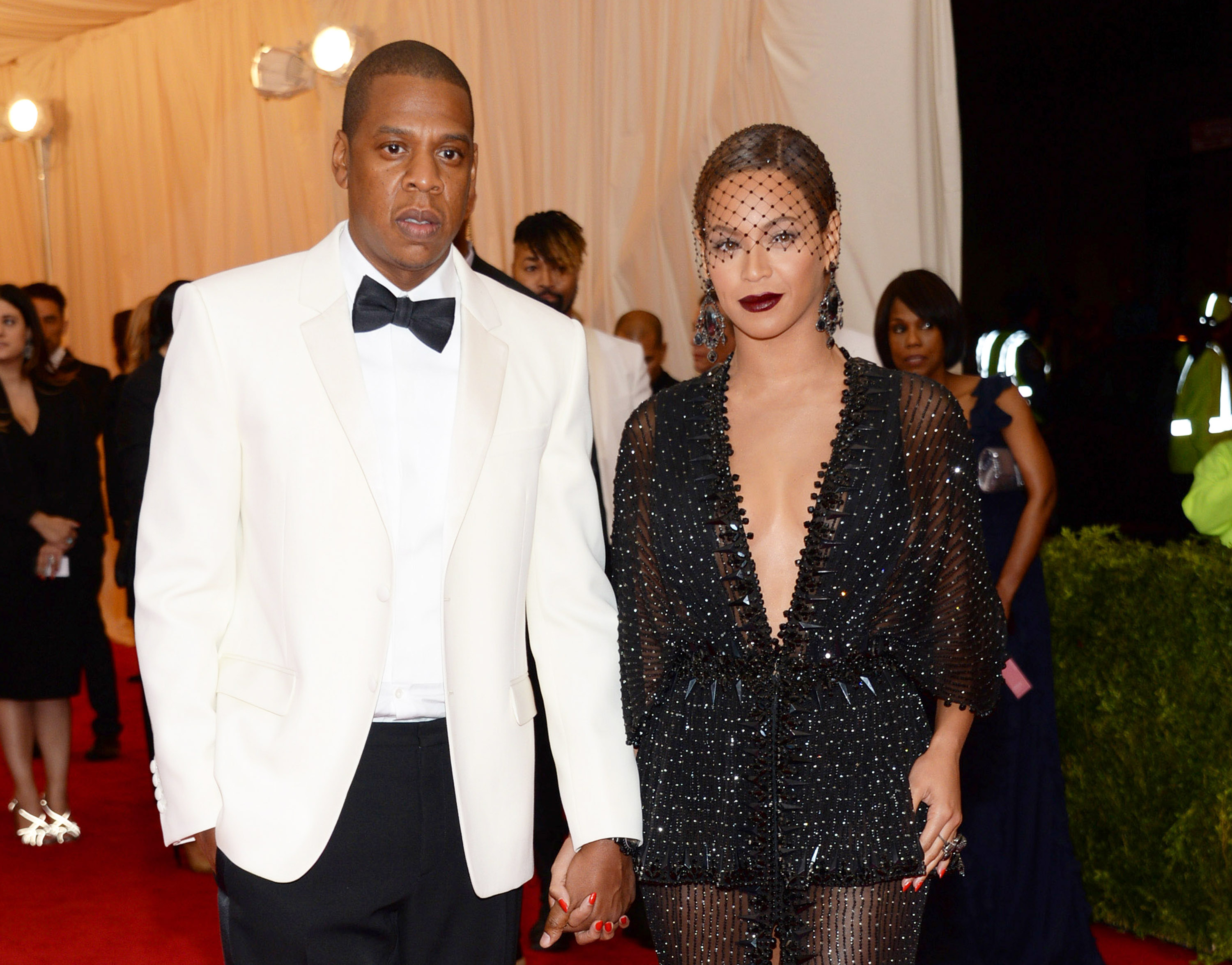 Jay Z and Beyonce at The Metropolitan Museum of Art's Costume Institute benefit gala.