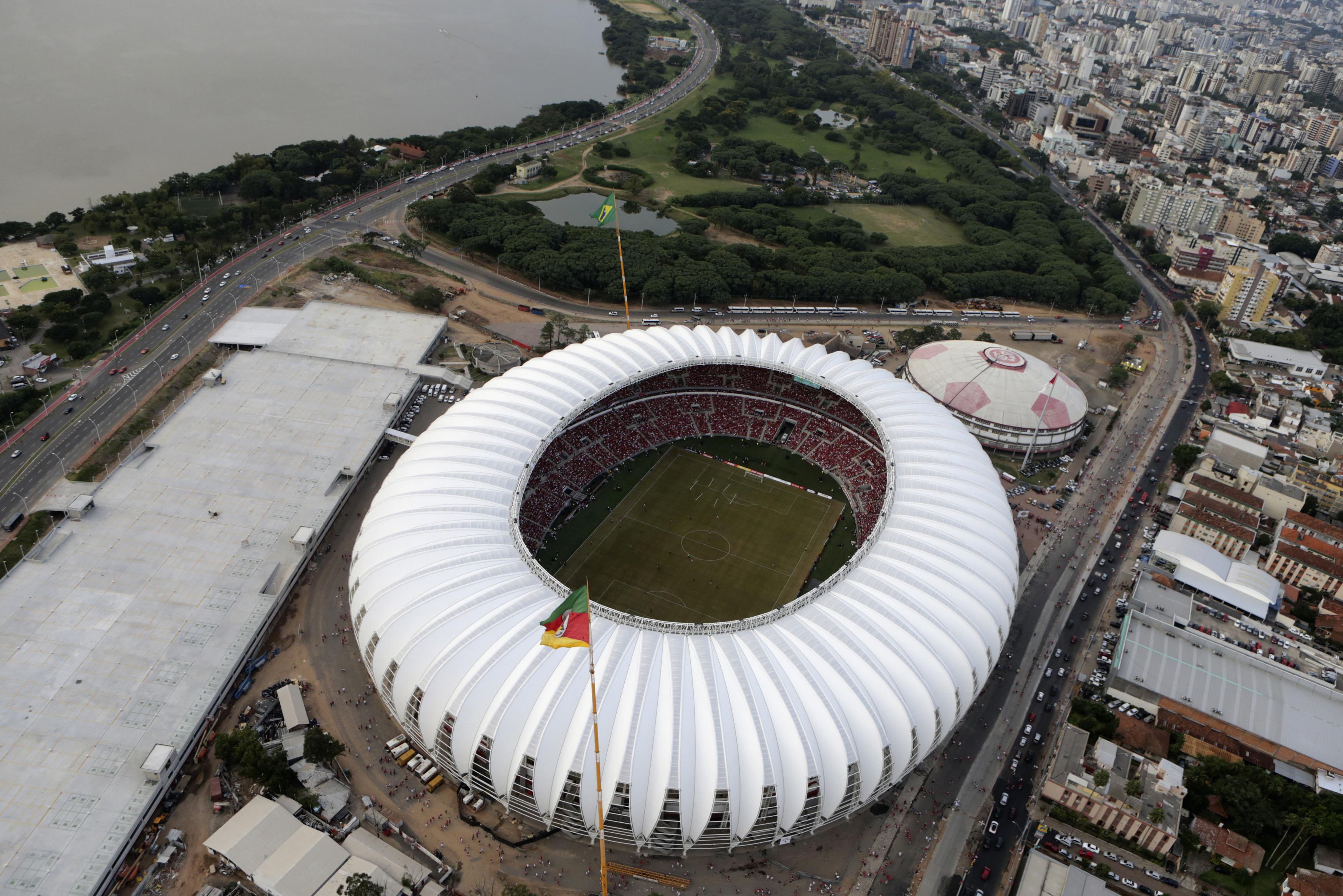 Estadio Beira-Rio                                                              City: Porto Alegre                                                              Contructed: 1969                                                              Capacity: 43,000