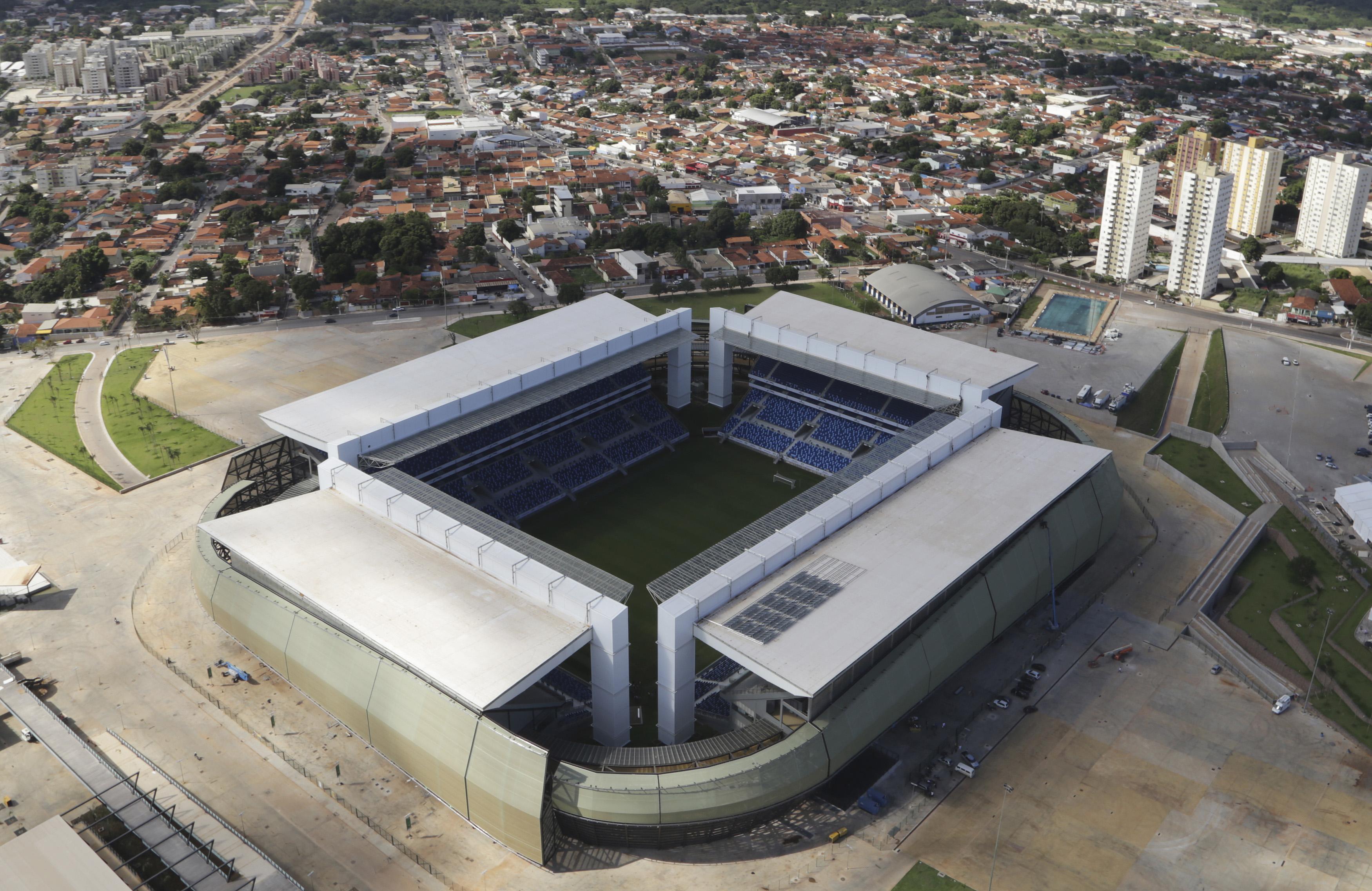 Arena Patanal                                                              City: Ciuaba                                                              Constructed: 2014                                                              Capacity: 40,000