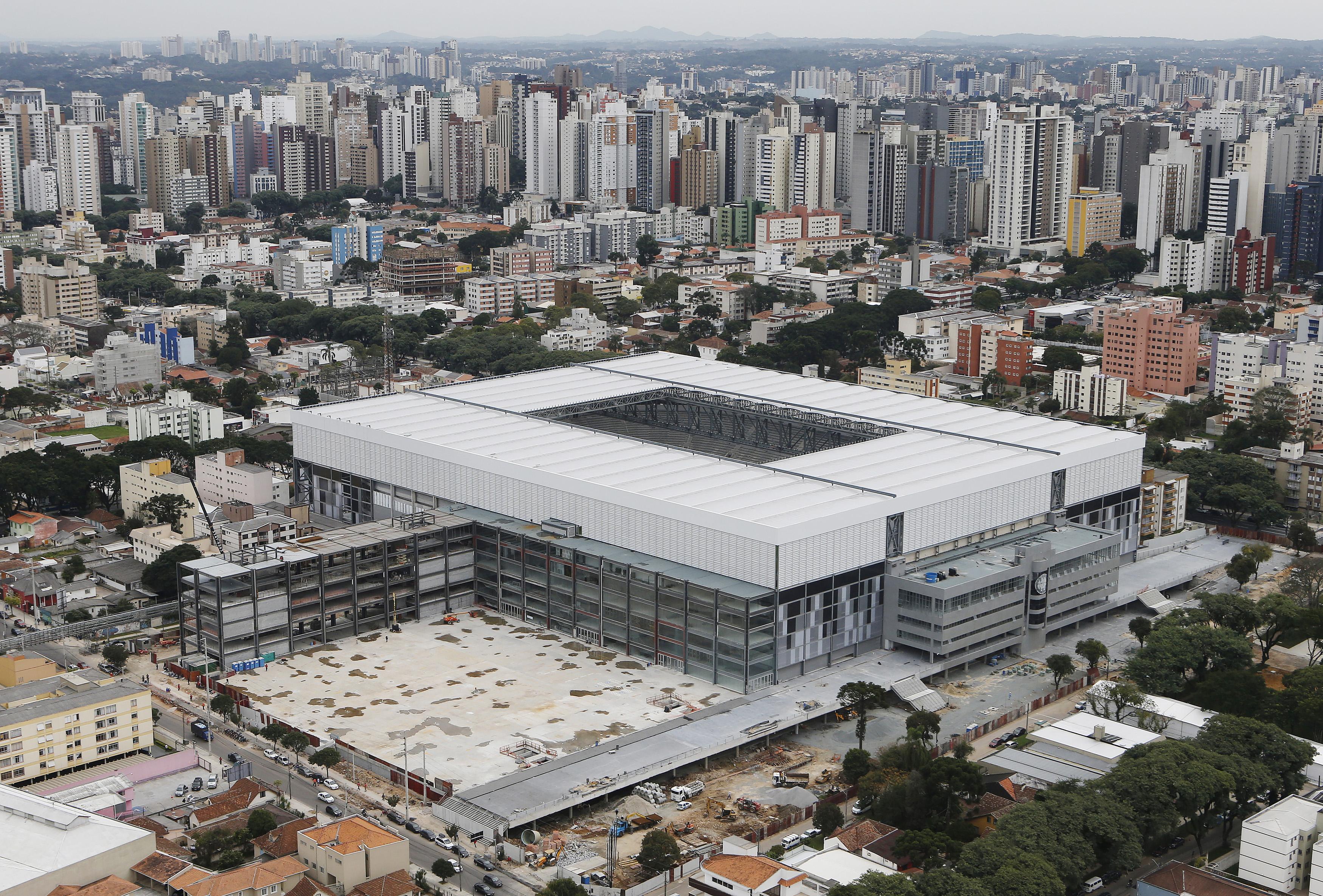 Arena da Baixada                                                              City: Curitiba                                                              Constructed: 1914                                                              Capacity: 38,500
