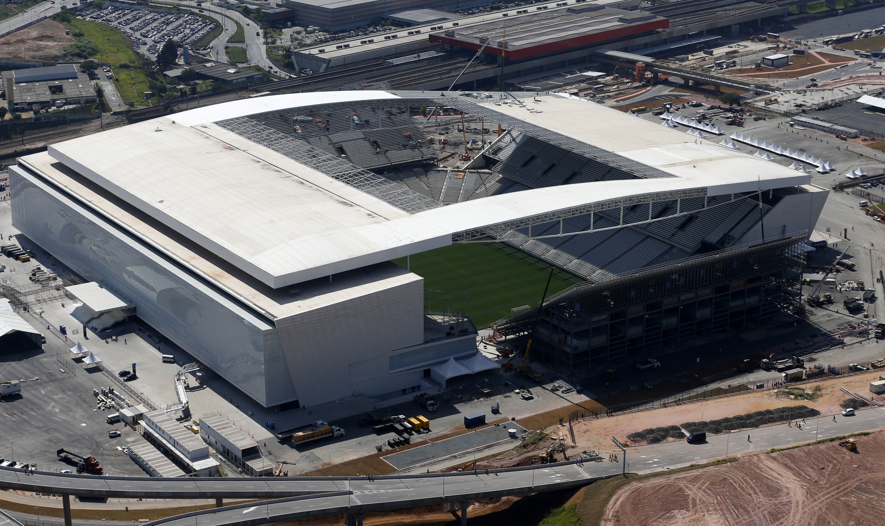 Arena de Sao Paulo                                                              City: Sao Paulo                                                              Constructed: 2014                                                              Capacity: 61,600