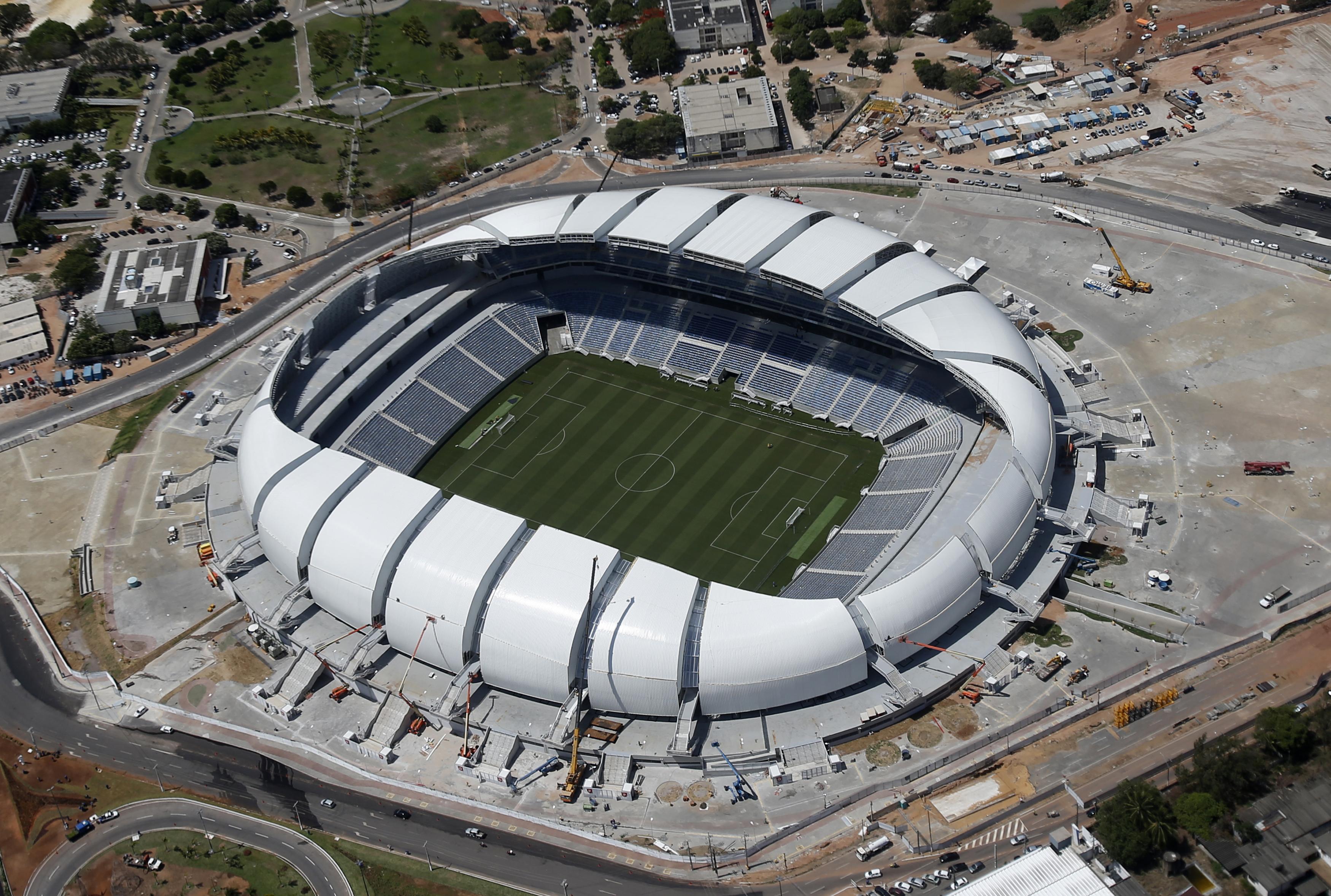 Arenas das Dunas                                                               City: Natal                                                              Constructed: 1972                                                              Capacity: 39,000