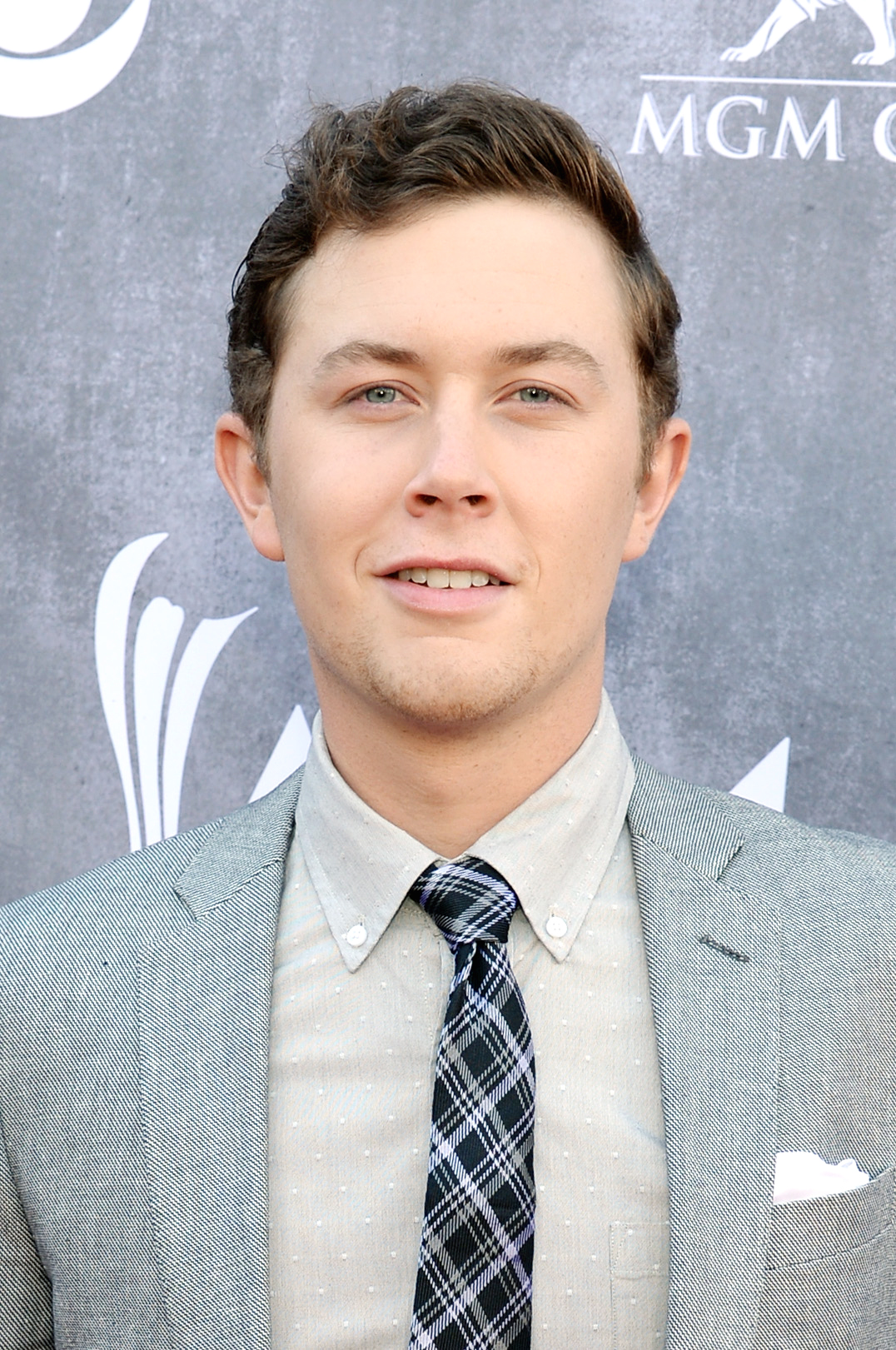 Scotty McCreery attends the 49th Annual Academy of Country Music Awards at the MGM Grand Garden Arena on April 6, 2014 in Las Vegas.