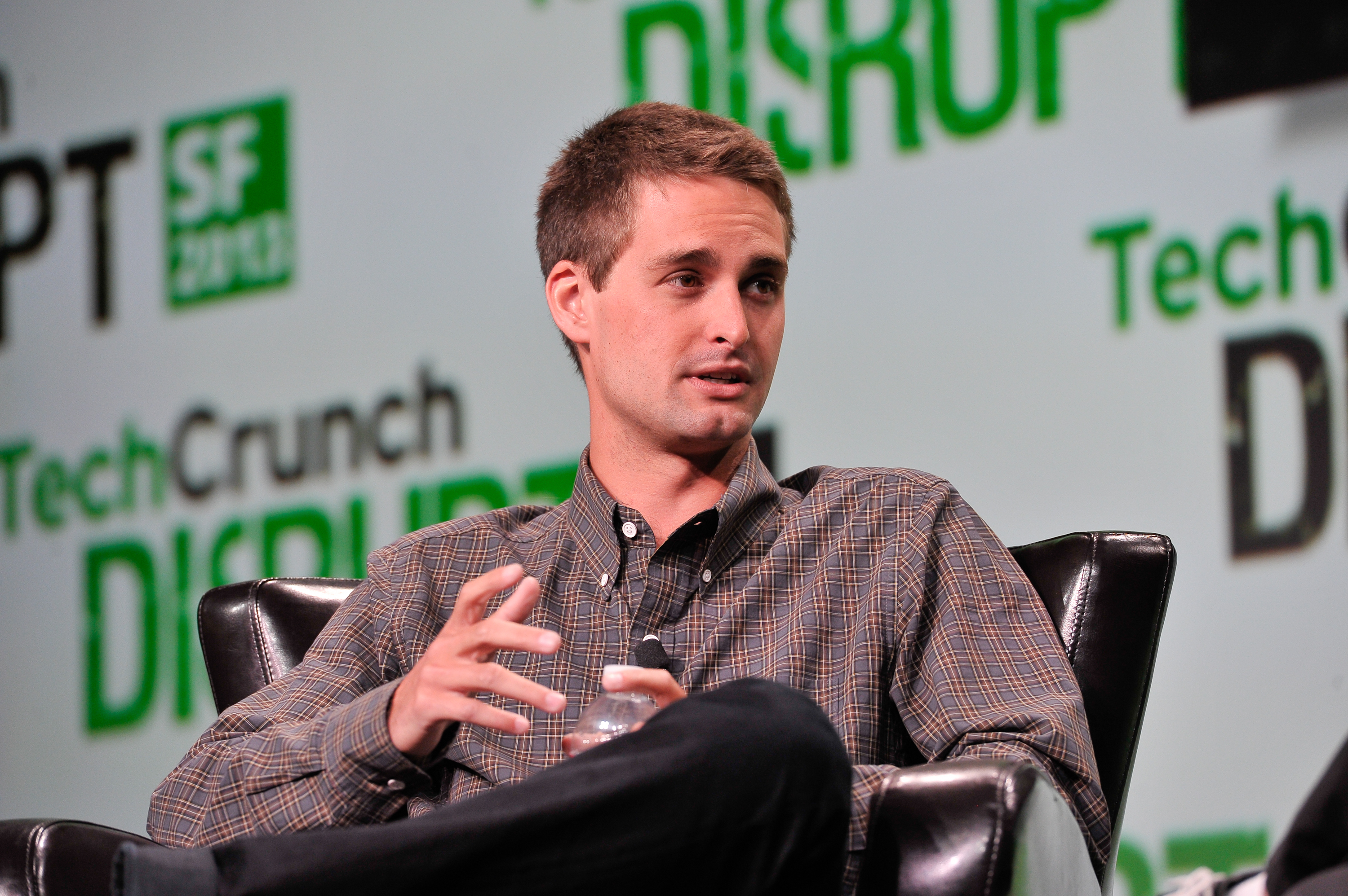 Evan Spiegel of Snapchat attends TechCruch Disrupt SF 2013 at San Francisco Design Center on Sept. 9, 2013 in San Francisco.