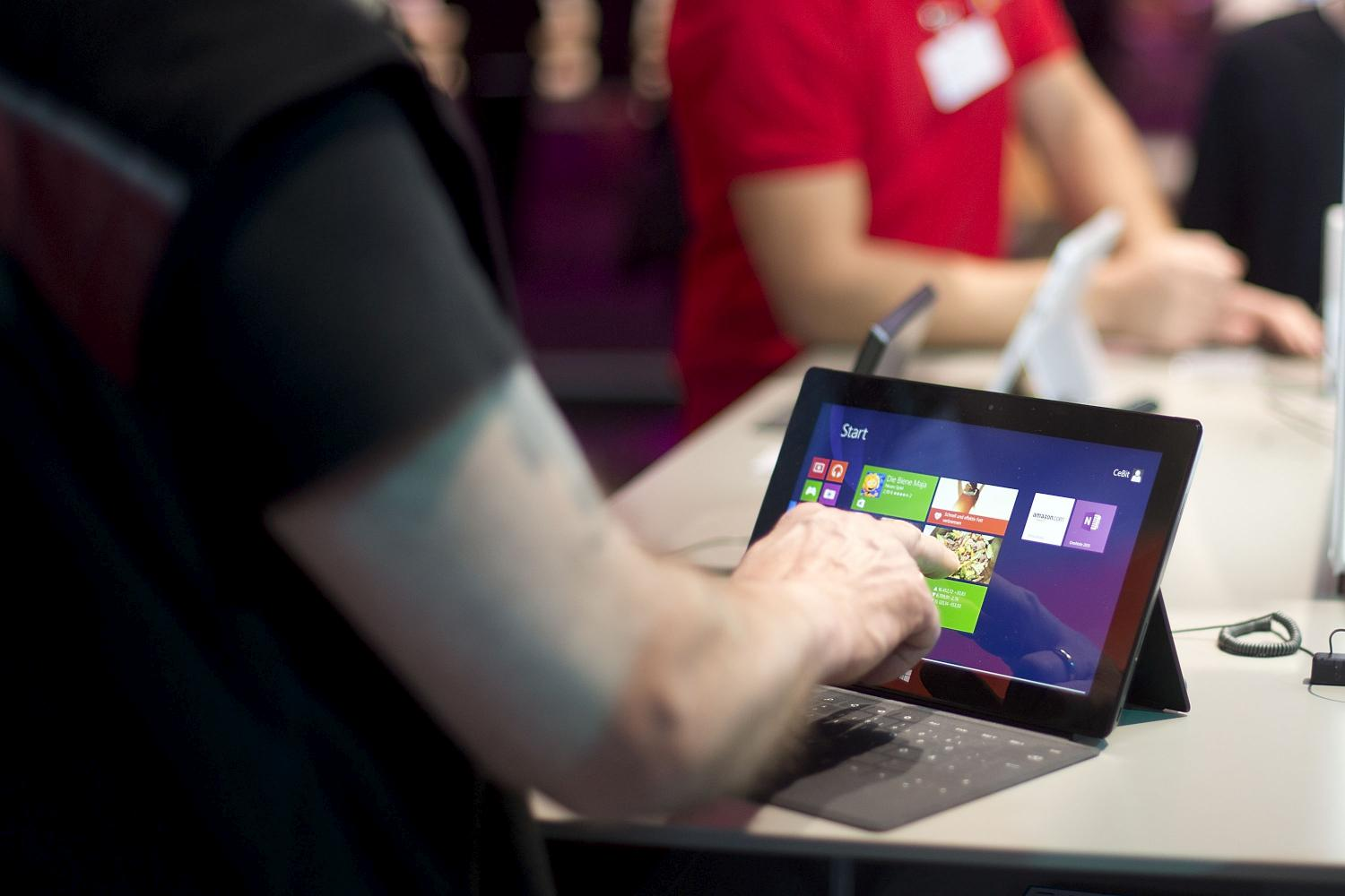 Microsoft's 10.6-inch Surface tablet