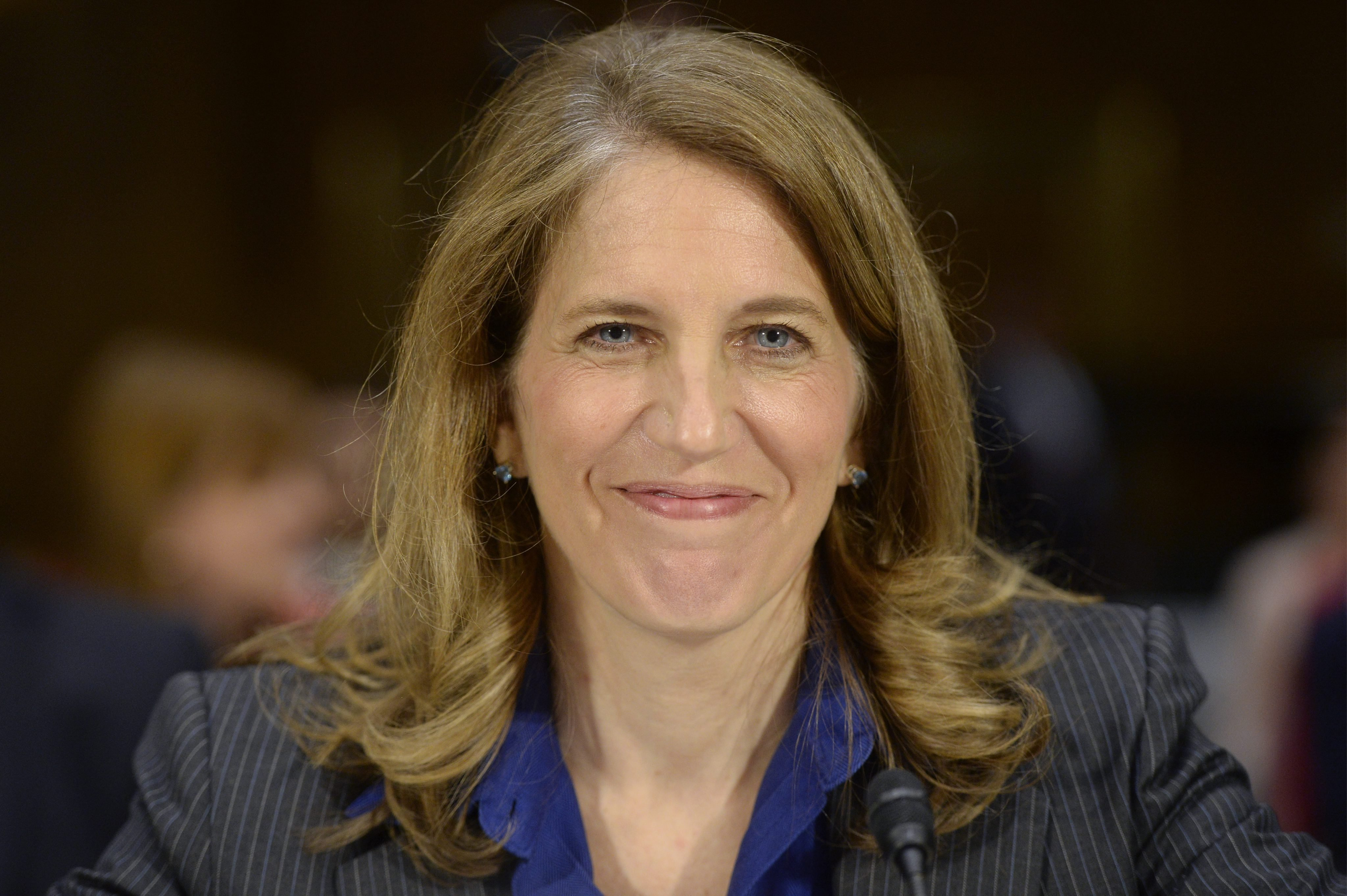 Sylvia Burwell appears before the Senate Health, Education, Labor and Pensions Committee hearing on her nomination to be secretary of the Health and Human Services Department  in Washington DC, on May 8,2014.
