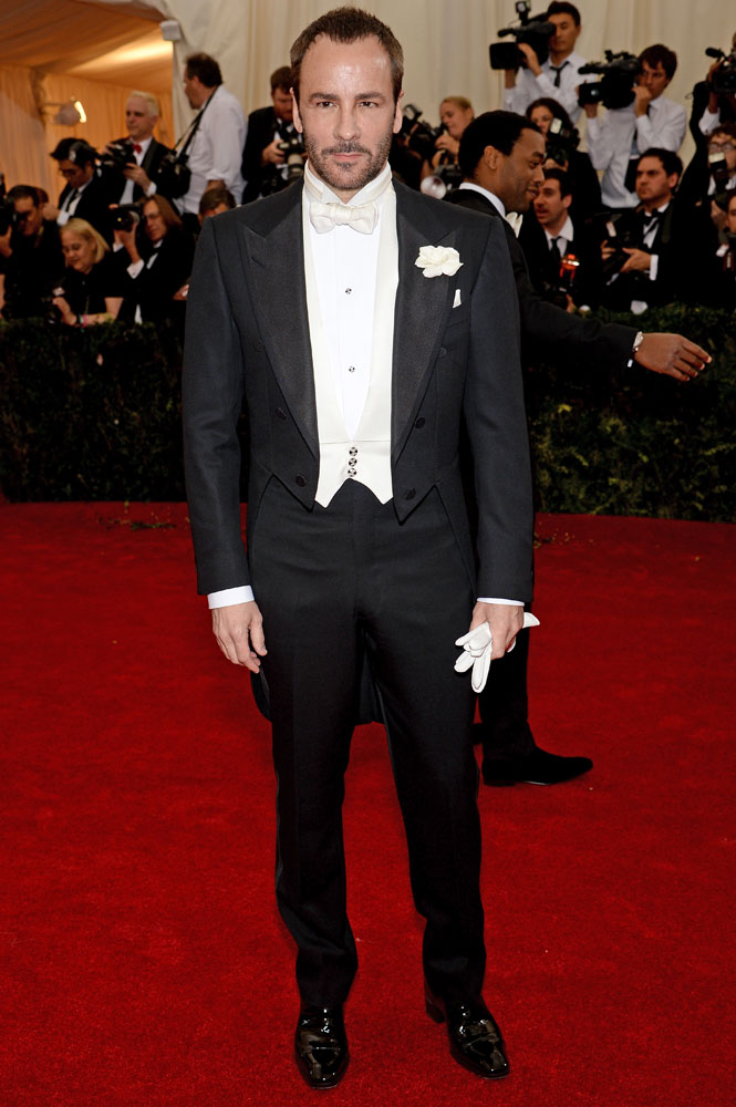 Tom Ford attends the  Charles James: Beyond Fashion  Costume Institute Gala at the Metropolitan Museum of Art on May 5, 2014 in New York City.