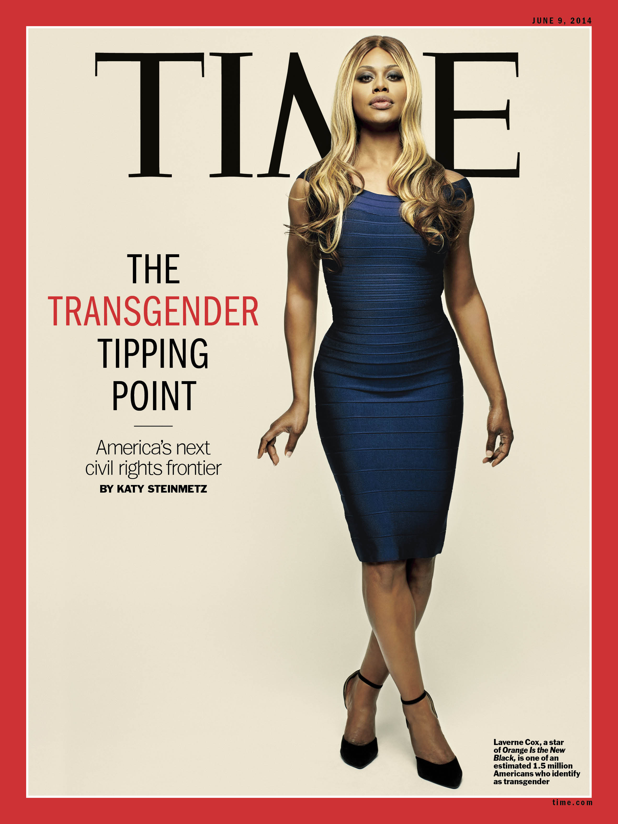 Laverne Cox on the cover of TIME, 2014