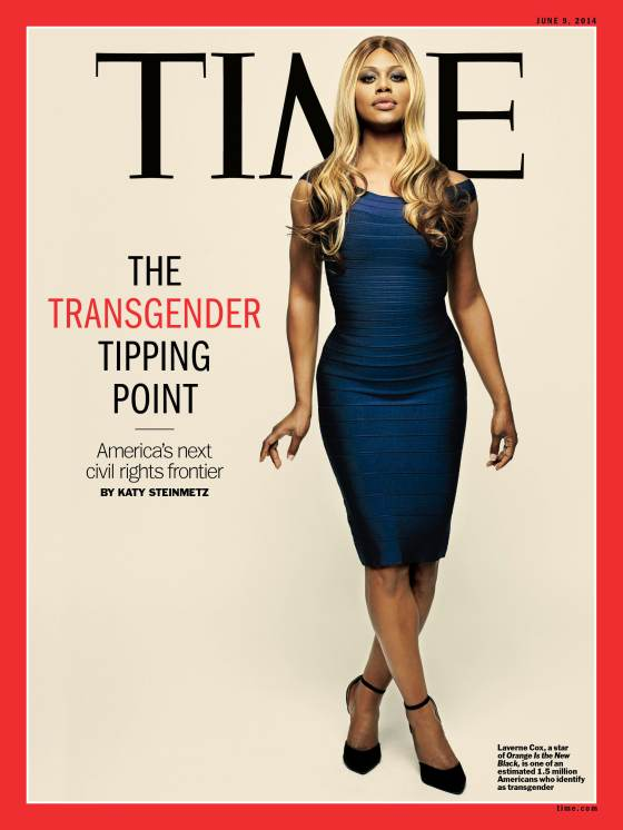 Laverne Cox Transgender Time Magazine Cover
