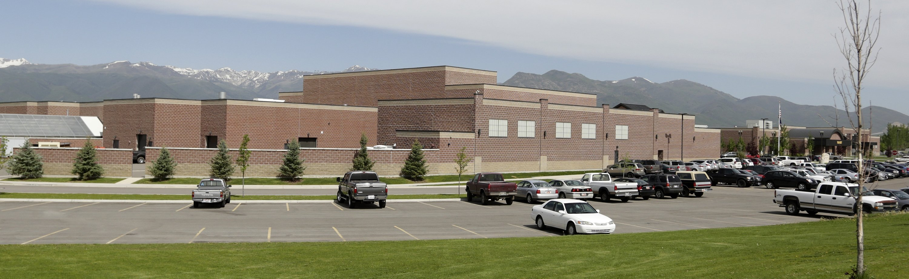 The Wasatch High School is shown Thursday, May 29, 2014, in Heber City, in Utah.