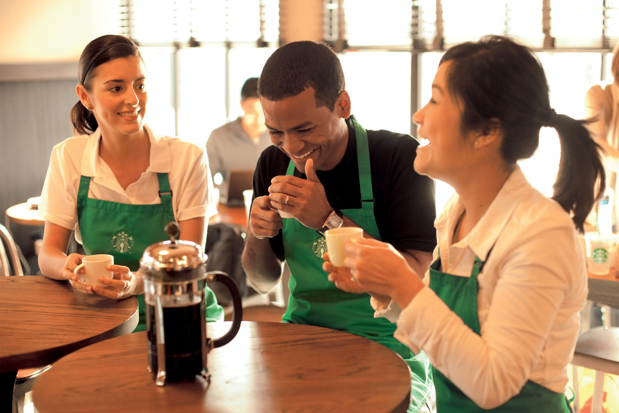 Starbucks offers it's employees help paying for an online school.