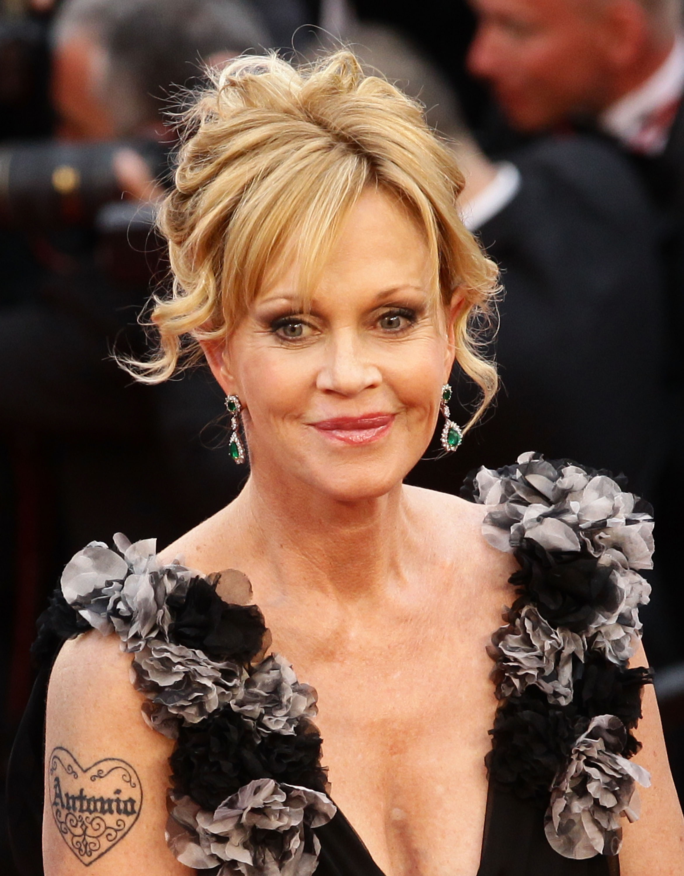 Melanie Griffith attends the Opening Ceremony at the Palais des Festivals during the 64th Cannes Film Festival on May 11, 2011 in Cannes, France.