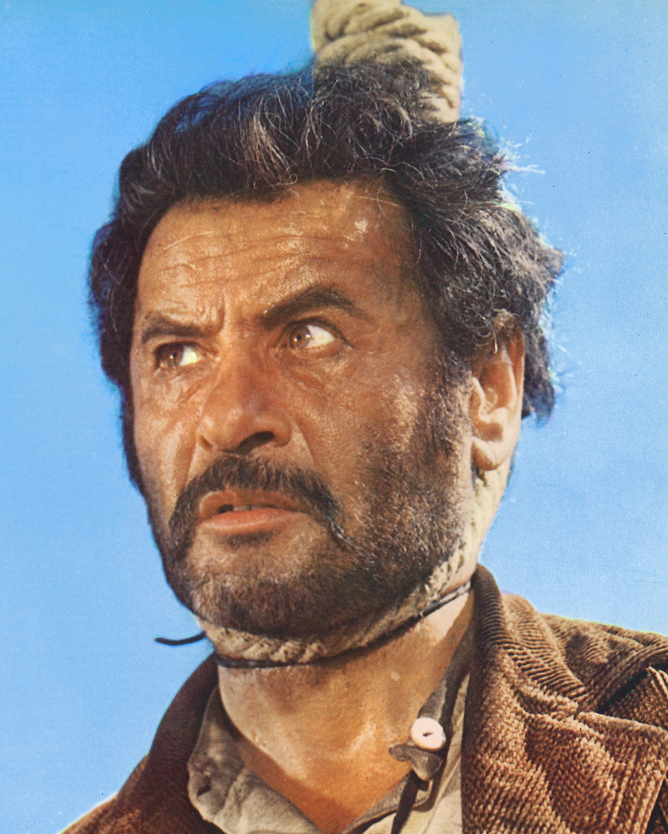 Eli Wallach as Tuco in Sergio Leone's 1966 film, 'The Good, the Bad and the Ugly.'