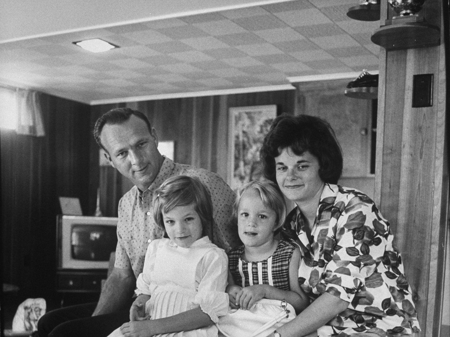 Arnold Palmer and family, 1962.