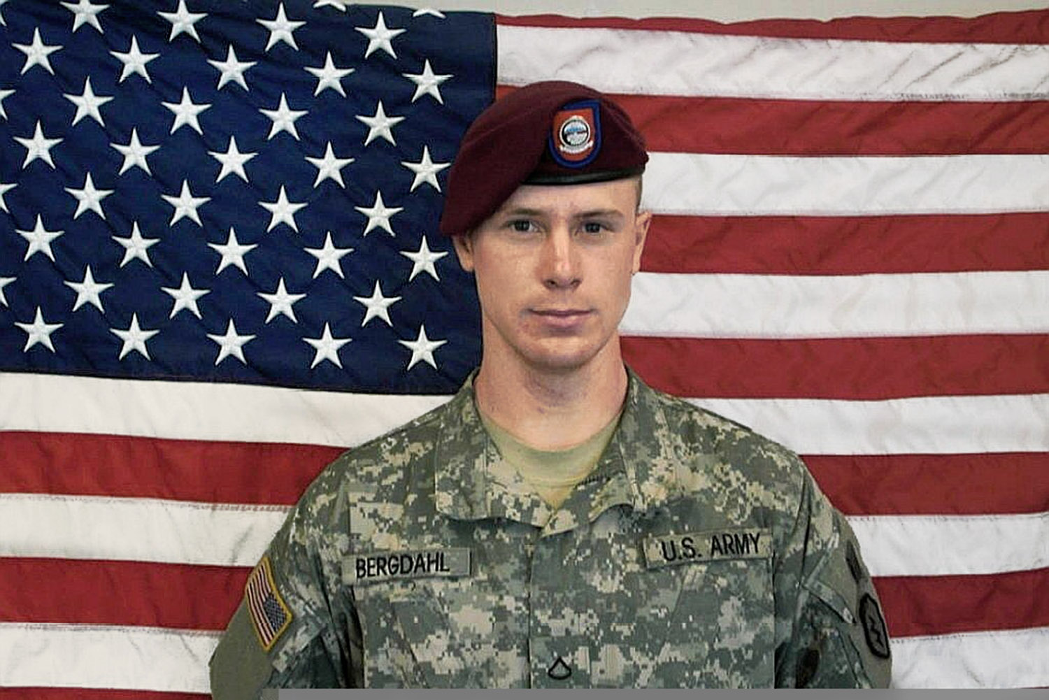 Sgt. Bowe Bergdahl in an  undated file image provided by the U.S. Army.