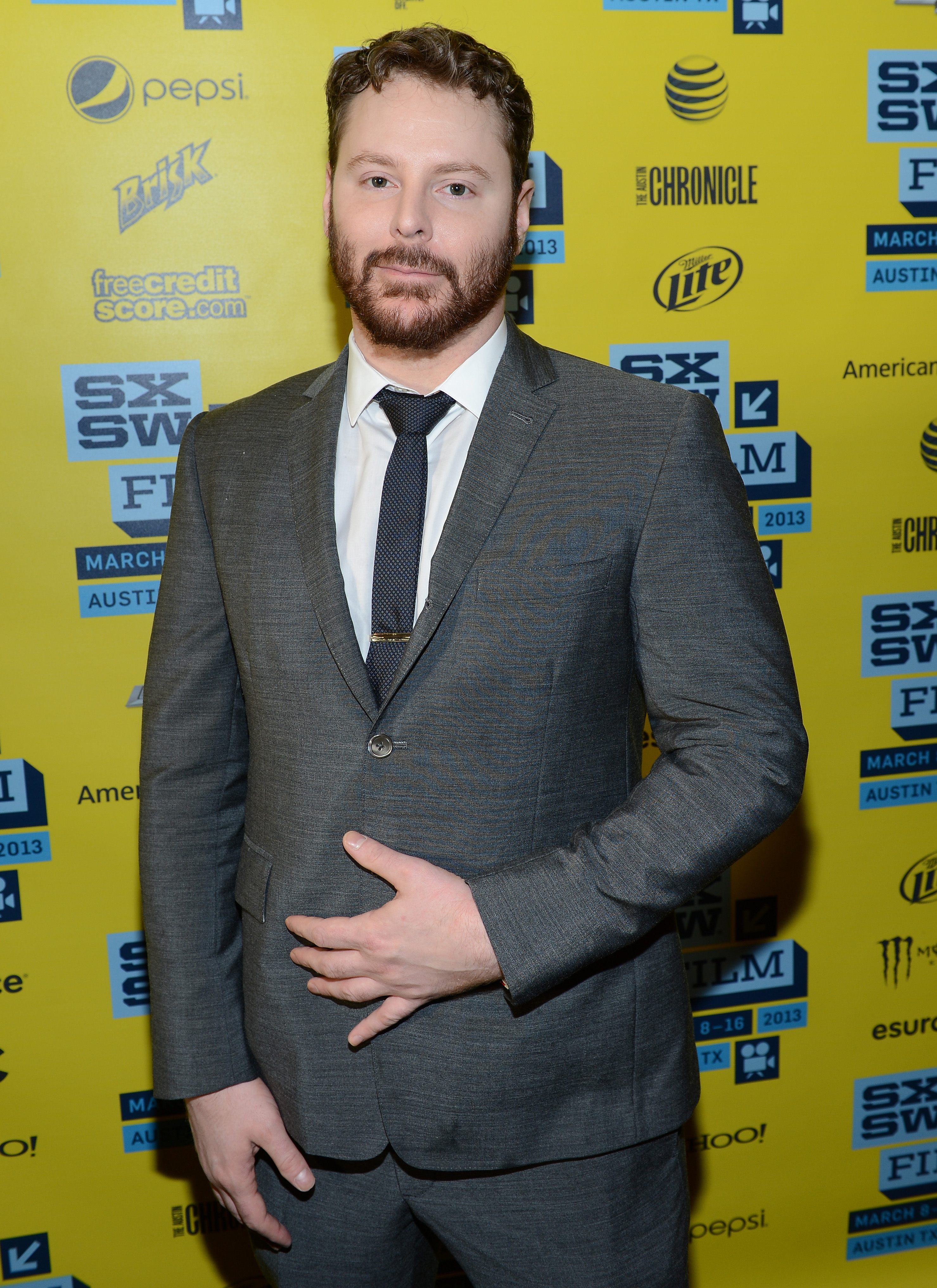 Sean Parker attends the World Premiere of  Downloaded  during the 2013 SXSW Music, Film + Interactive Festival at Paramount Theatre in Austin on March 10, 2013.