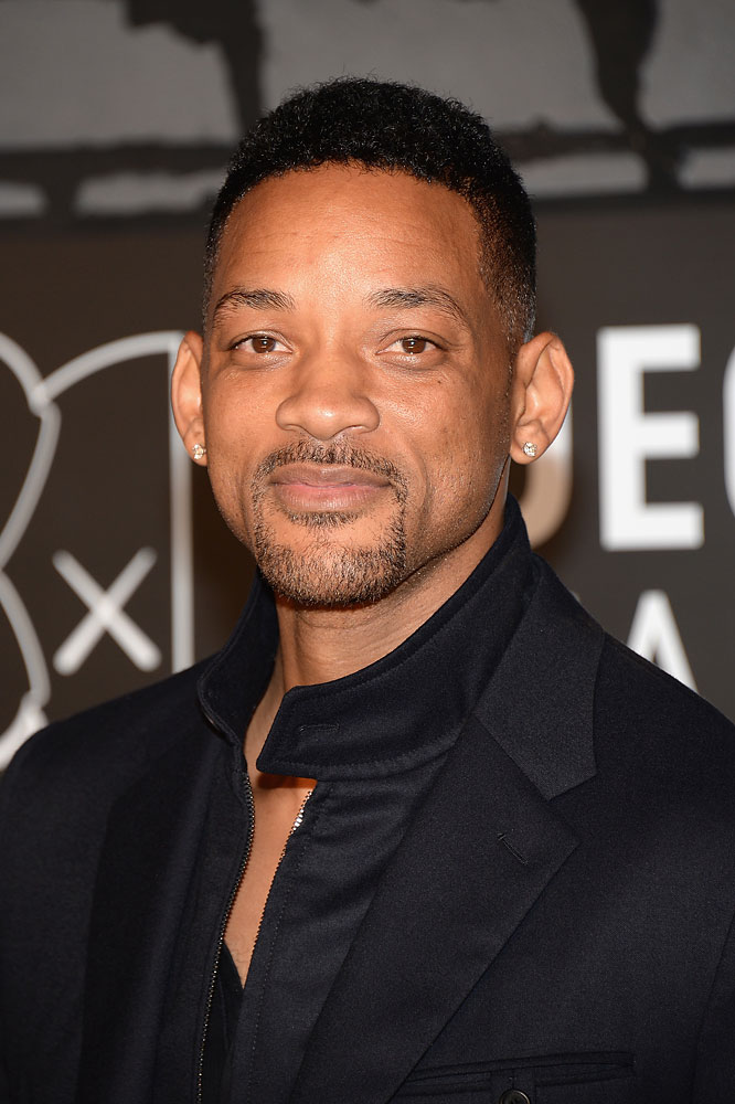 Actor Will Smith at the 2013 MTV Video Music Awards at the Barclays Center on Aug. 25, 2013 in the Brooklyn borough of New York City.