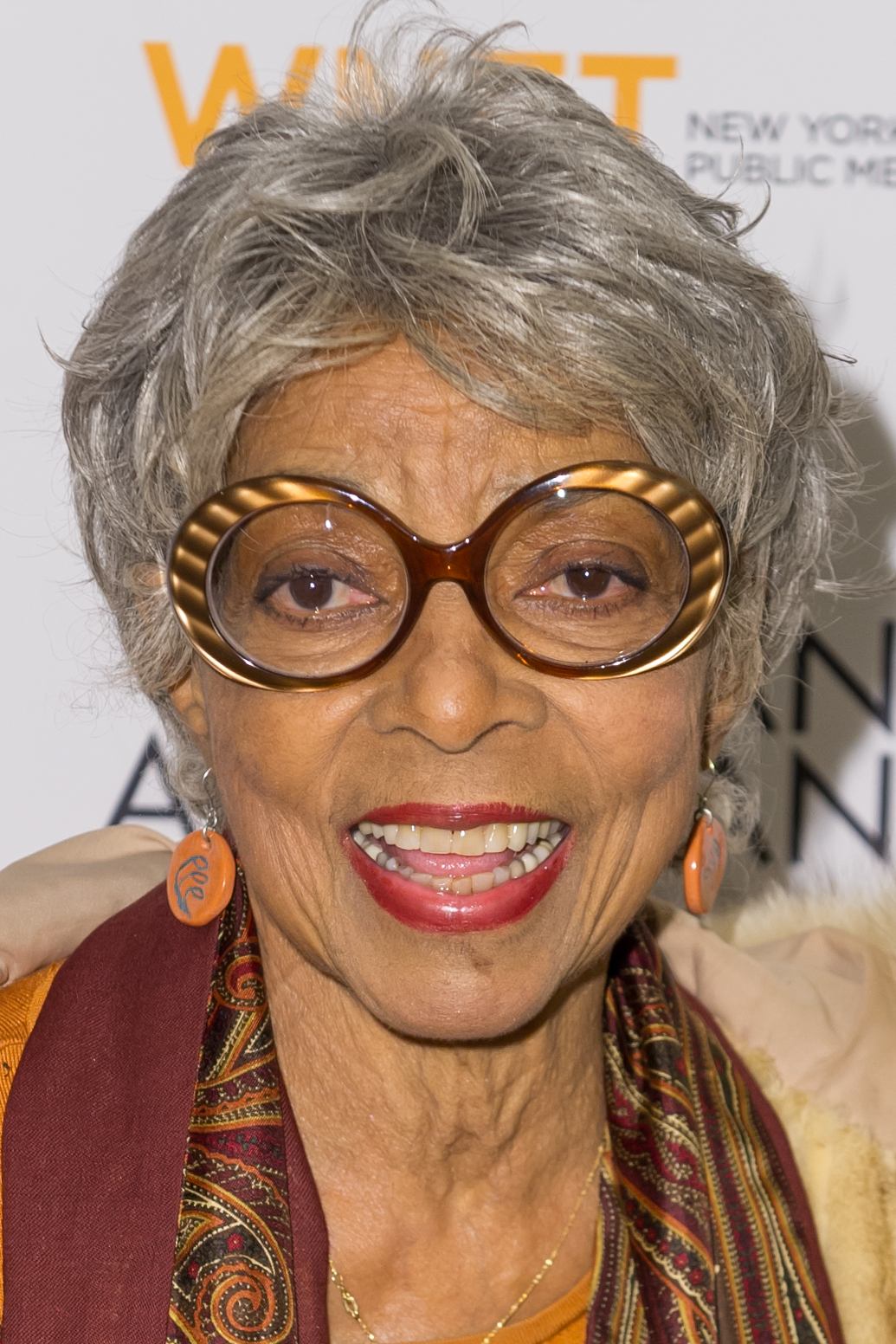 Ruby Dee attends the  The African Americans: Many Rivers to Cross  screening at The Paris Theatre