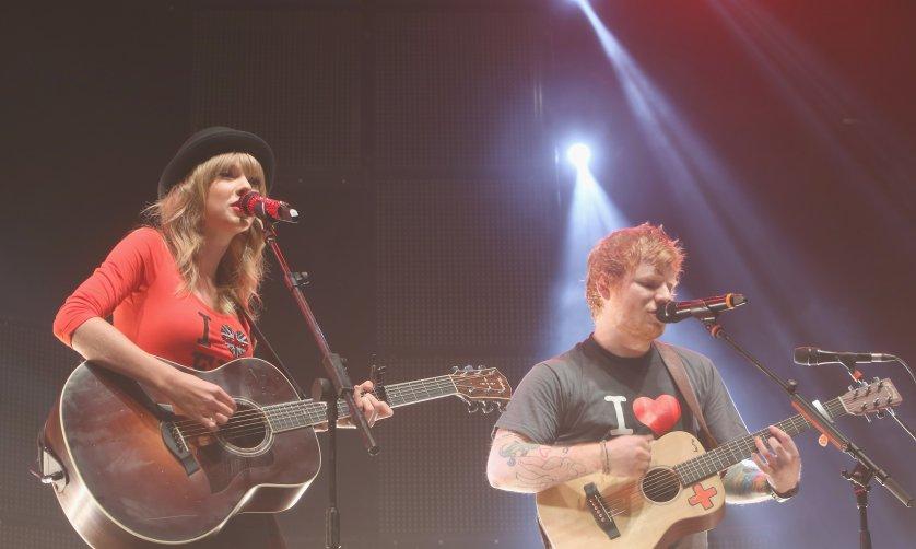 Ed Sheeran -  At Madison Square Garden Arena - November 1, 2013