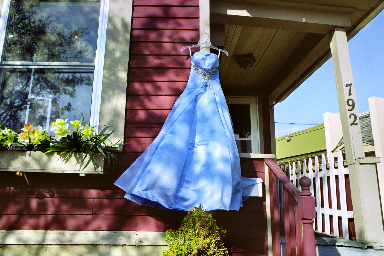 South Wedge Blue Secondhand Prom Dress
