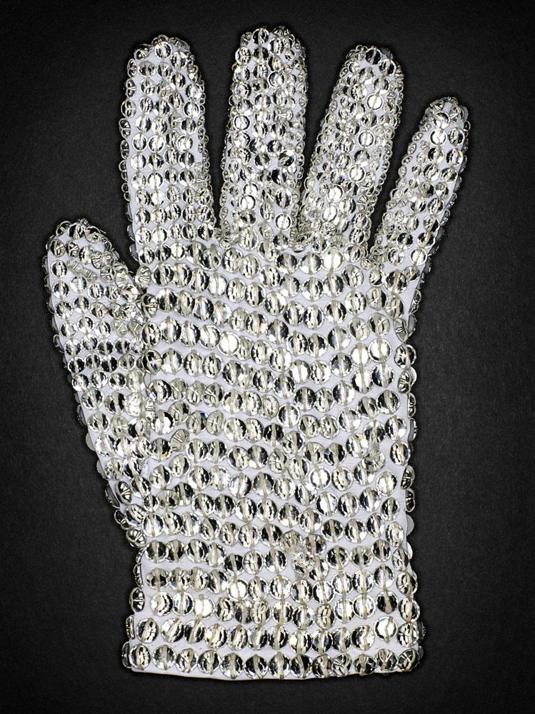 White Swarovski Crystal Glove