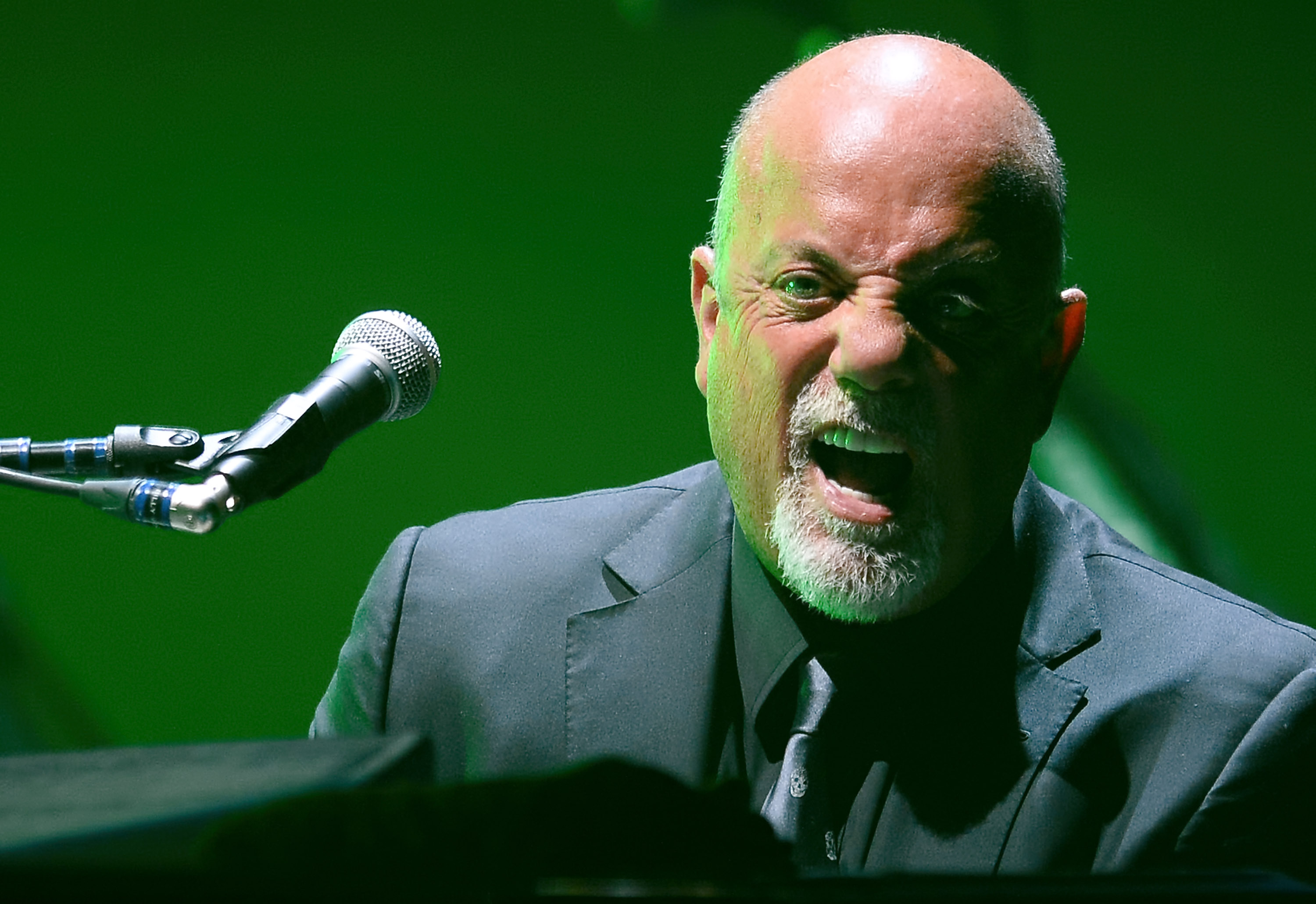 Singer/songwriter Billy Joel performs at the MGM Grand Garden Arena