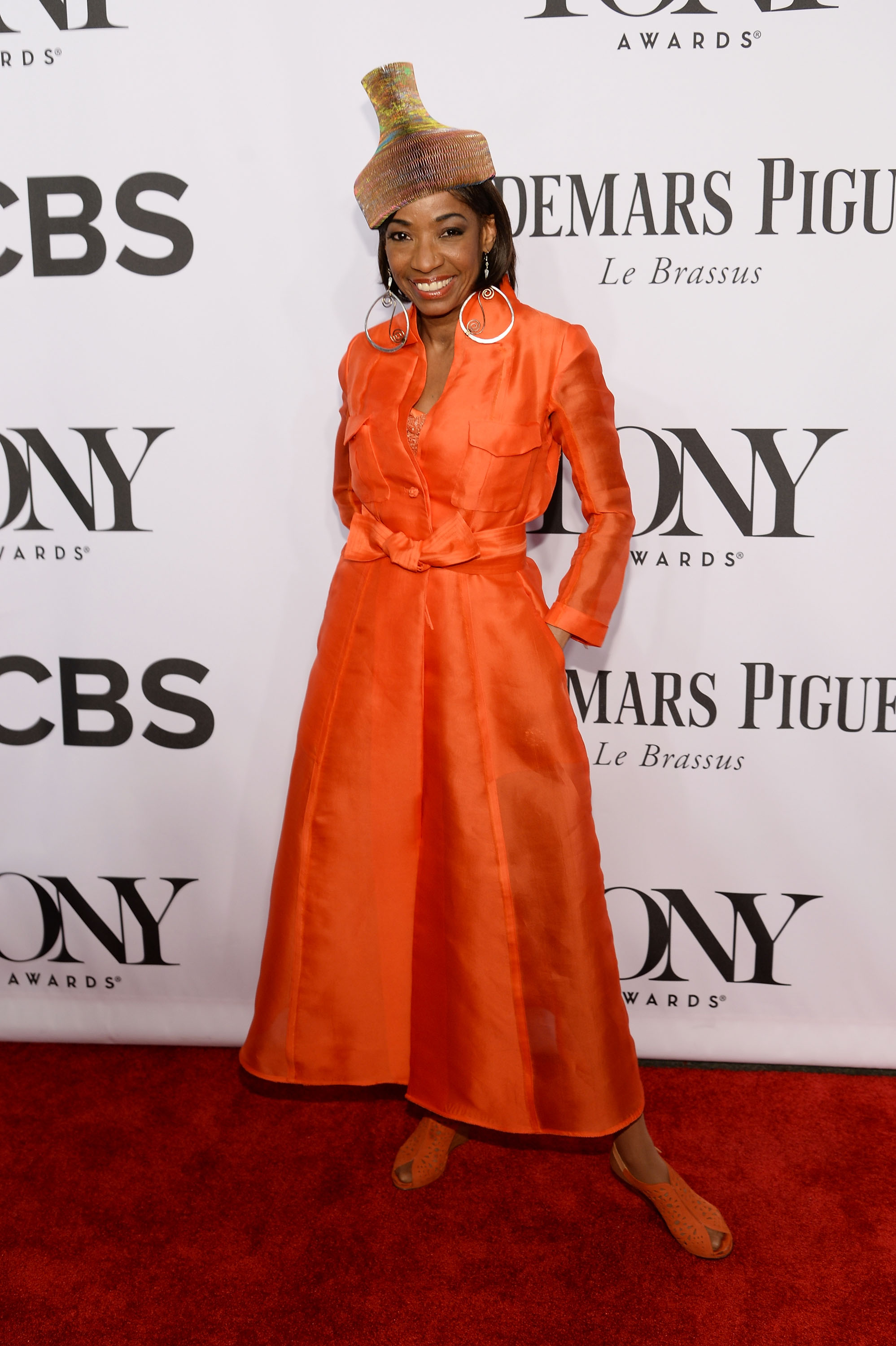 Actress Adriane Lenox attends the 68th Annual Tony Awards at Radio City Music Hall on June 8, 2014 in New York City.