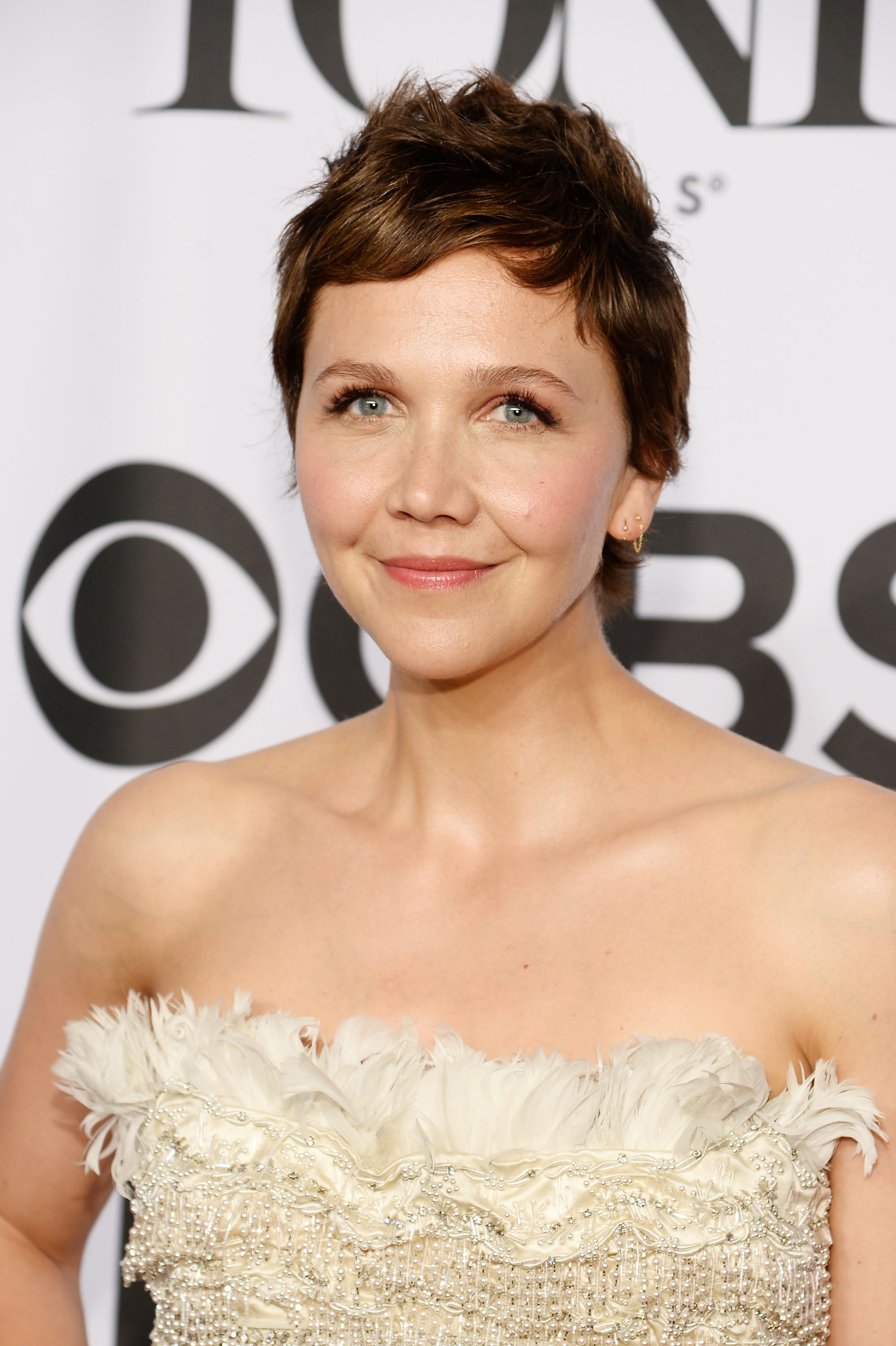 Actress Maggie Gyllenhaal attends the 68th Annual Tony Awards at Radio City Music Hall on June 8, 2014 in New York City.