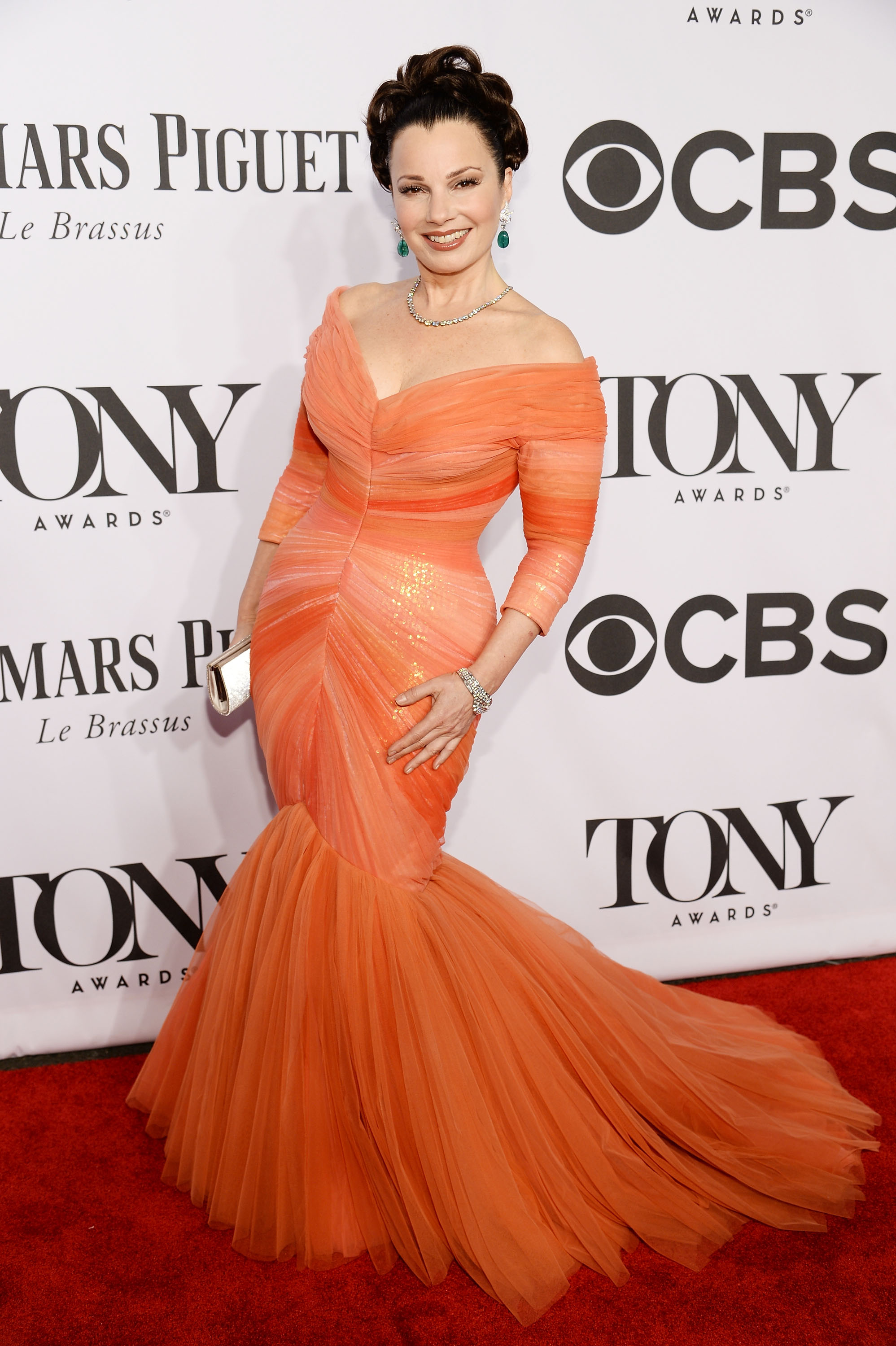 Actress Fran Drescher attends the 68th Annual Tony Awards at Radio City Music Hall on June 8, 2014 in New York City.