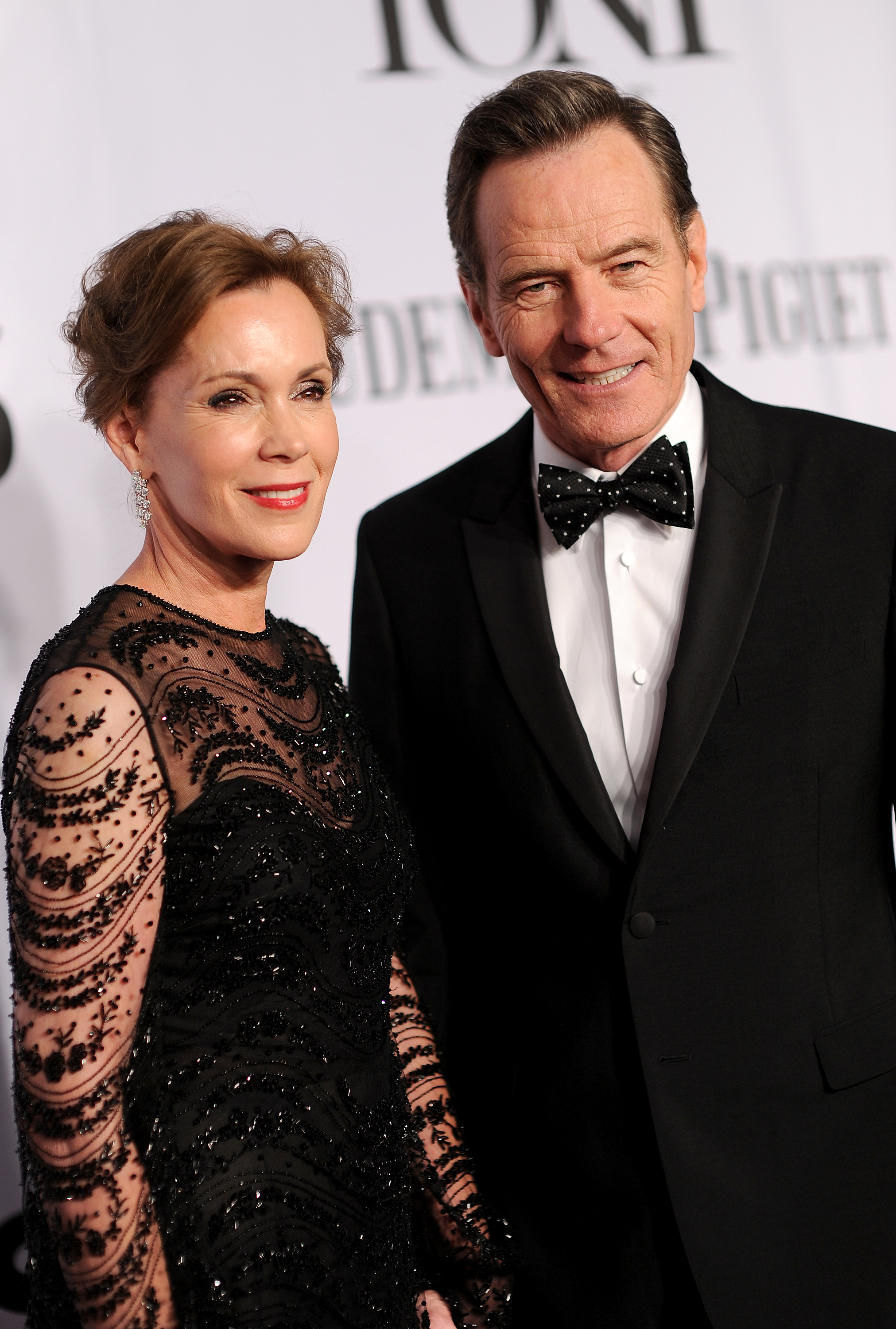 Actors Robin Dearden and Bryan Cranston attends the 68th Annual Tony Awards at Radio City Music Hall on June 8, 2014 in New York City.