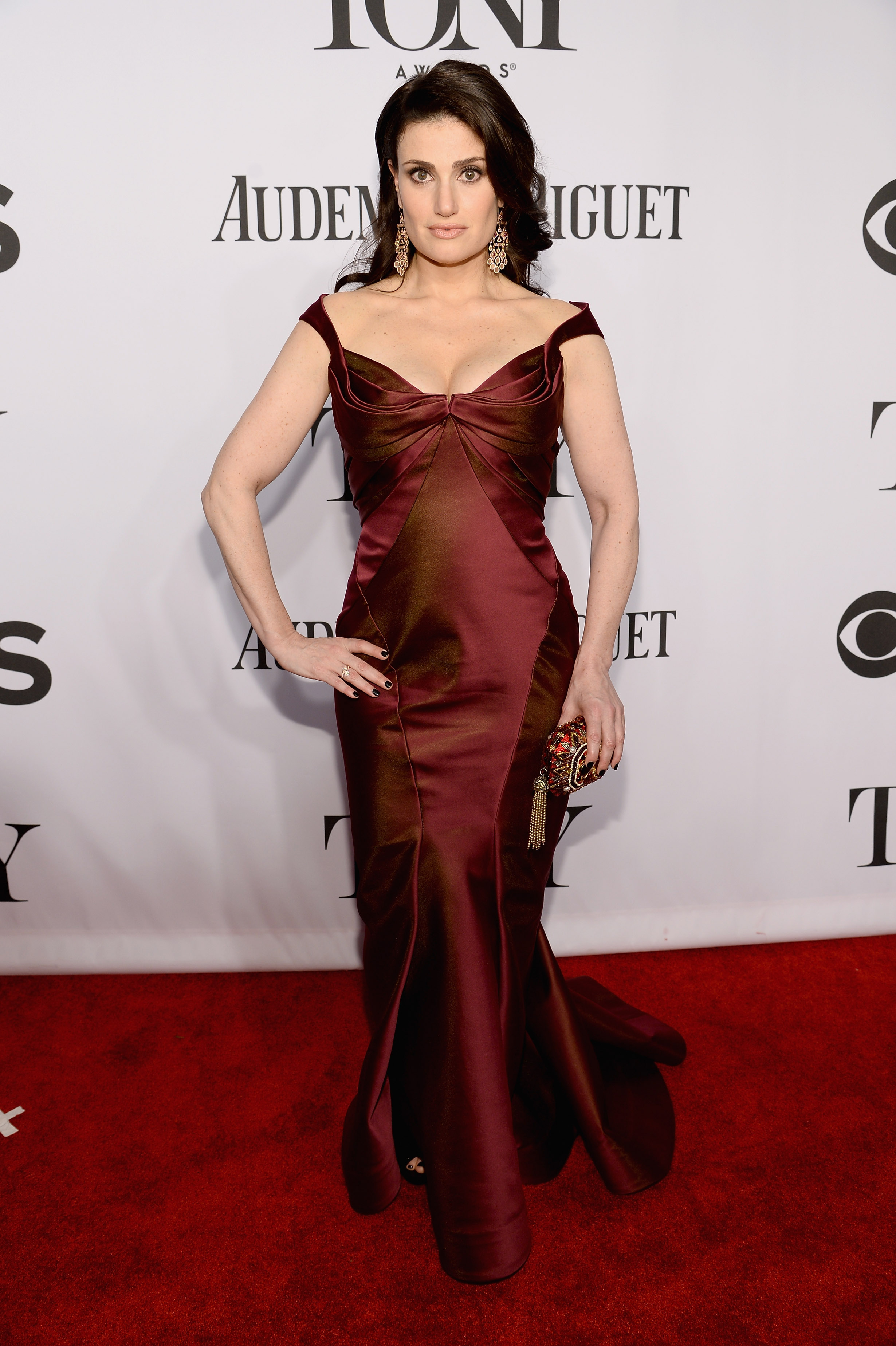 Actress Idina Menzel attends the 68th Annual Tony Awards at Radio City Music Hall on June 8, 2014 in New York City.