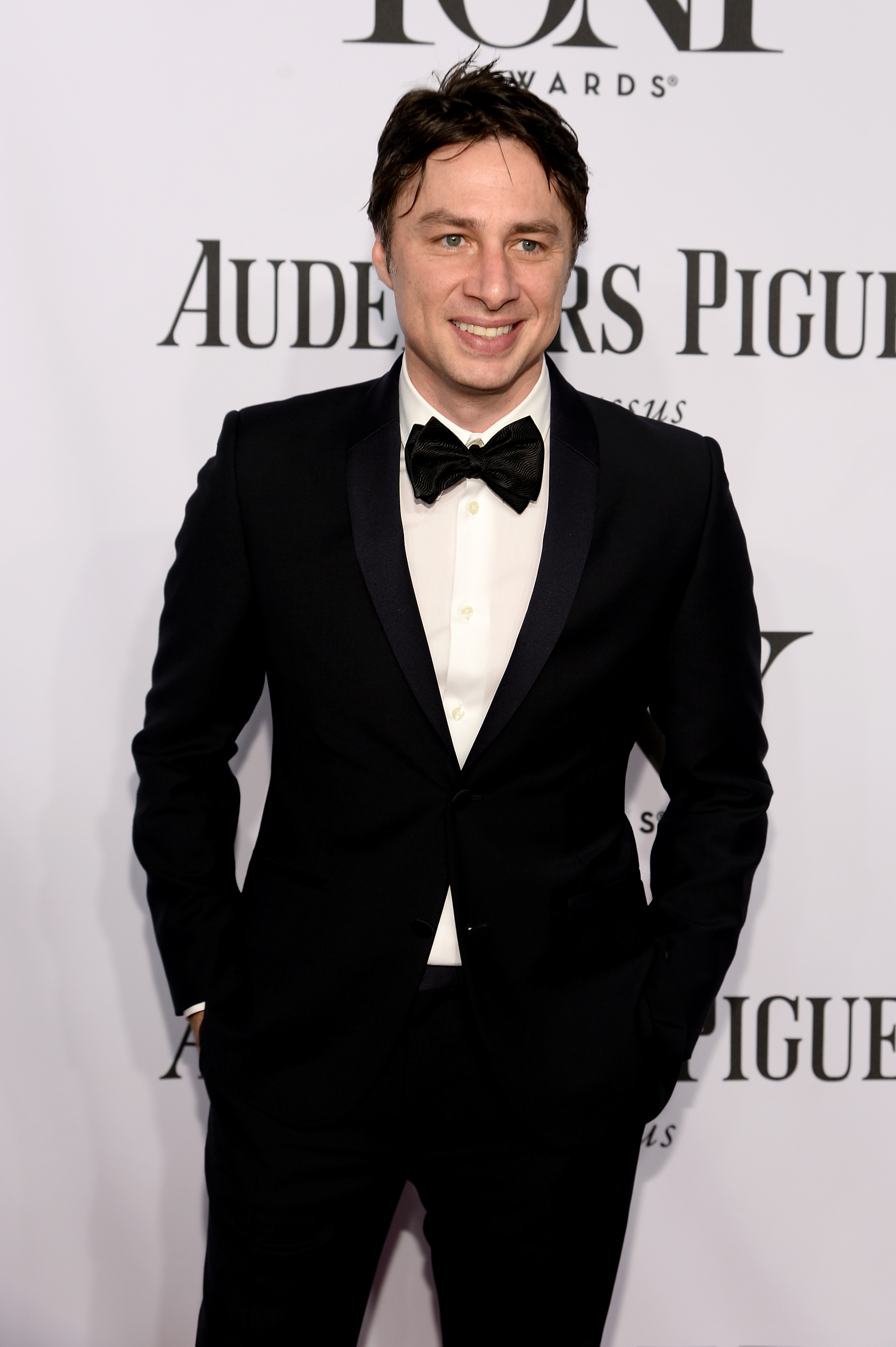 Actor Zach Braff  attends the 68th Annual Tony Awards at Radio City Music Hall on June 8, 2014 in New York City.