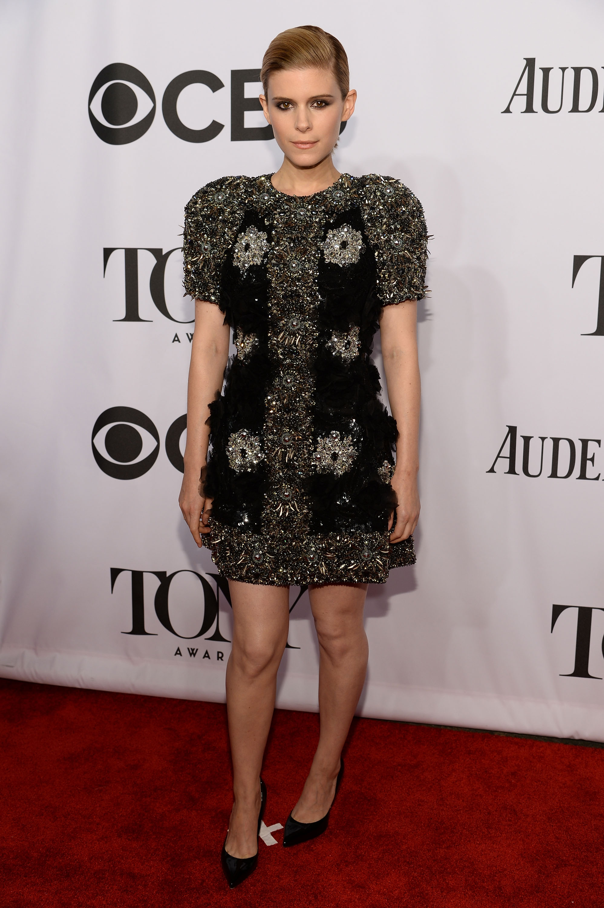 Actress Kate Mara attends the 68th Annual Tony Awards at Radio City Music Hall on June 8, 2014 in New York City.